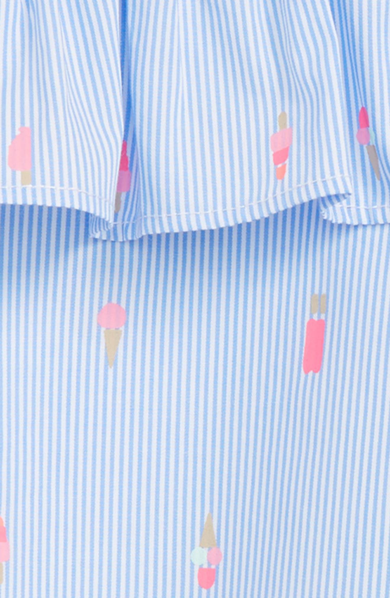 mini ice pops cold shoulder dress,                             Alternate thumbnail 2, color,                             400