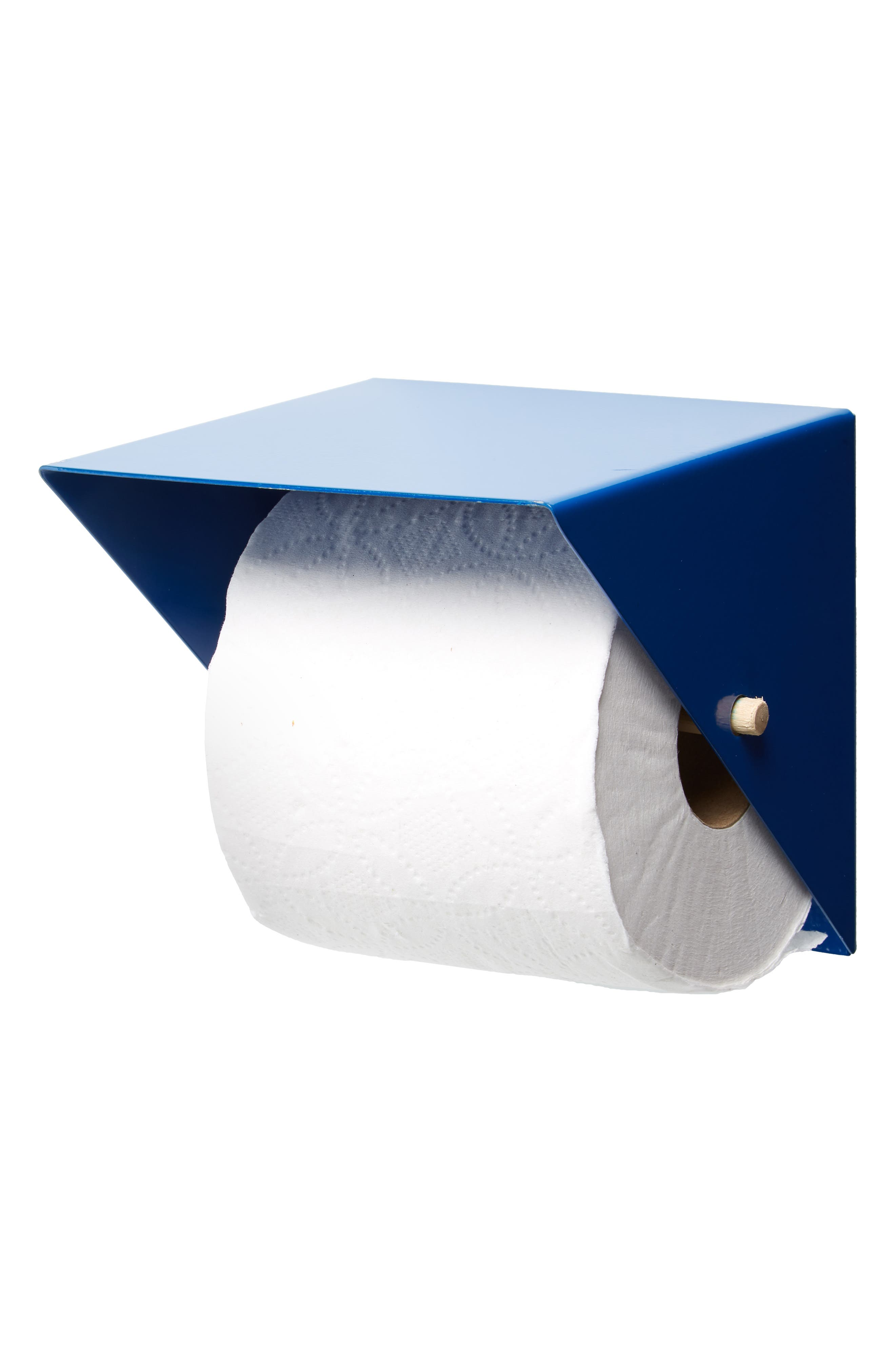 Toilet Paper Holder,                             Alternate thumbnail 2, color,                             BLUE