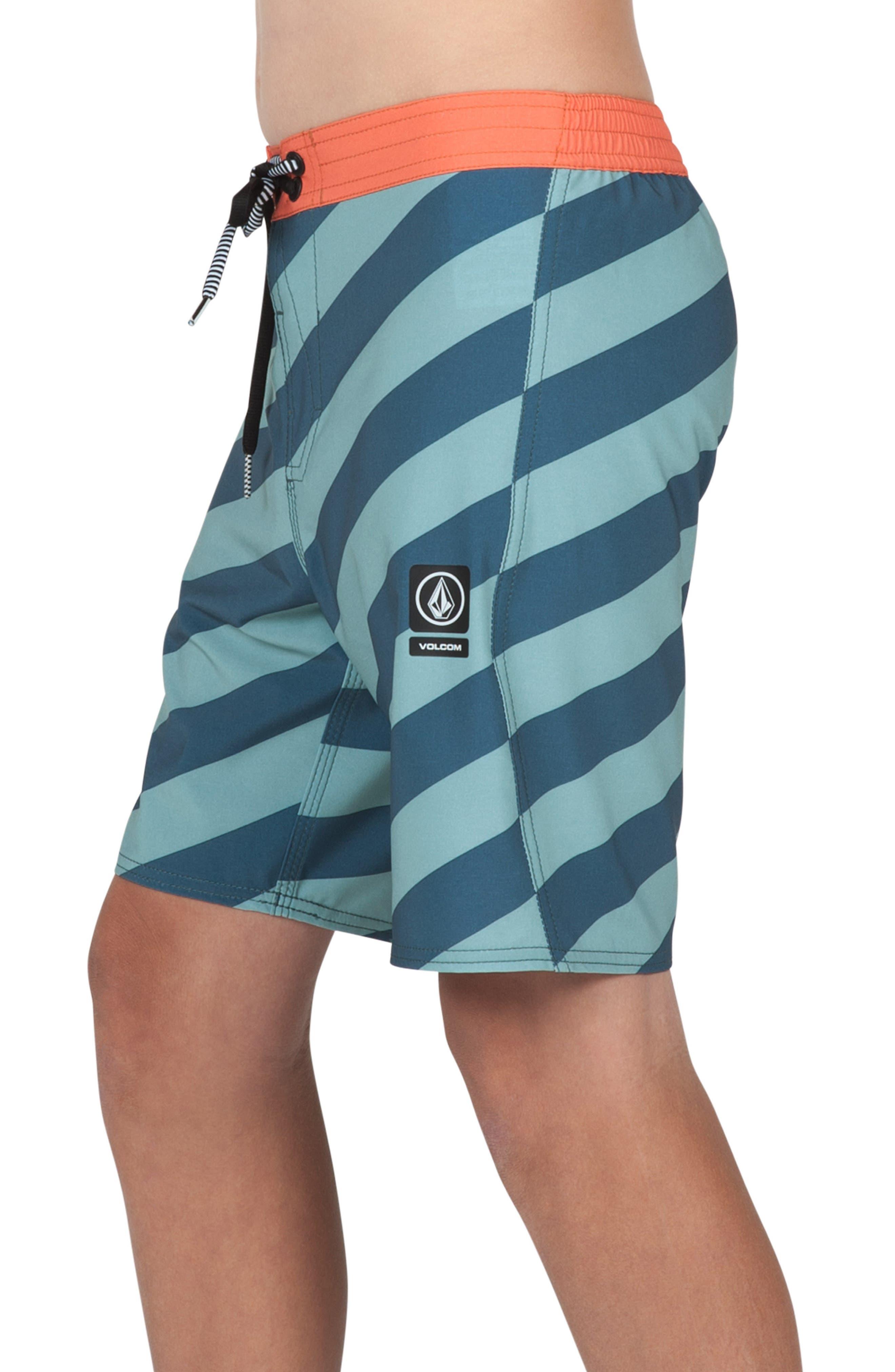 Stripey Jammer Board Shorts,                             Alternate thumbnail 14, color,