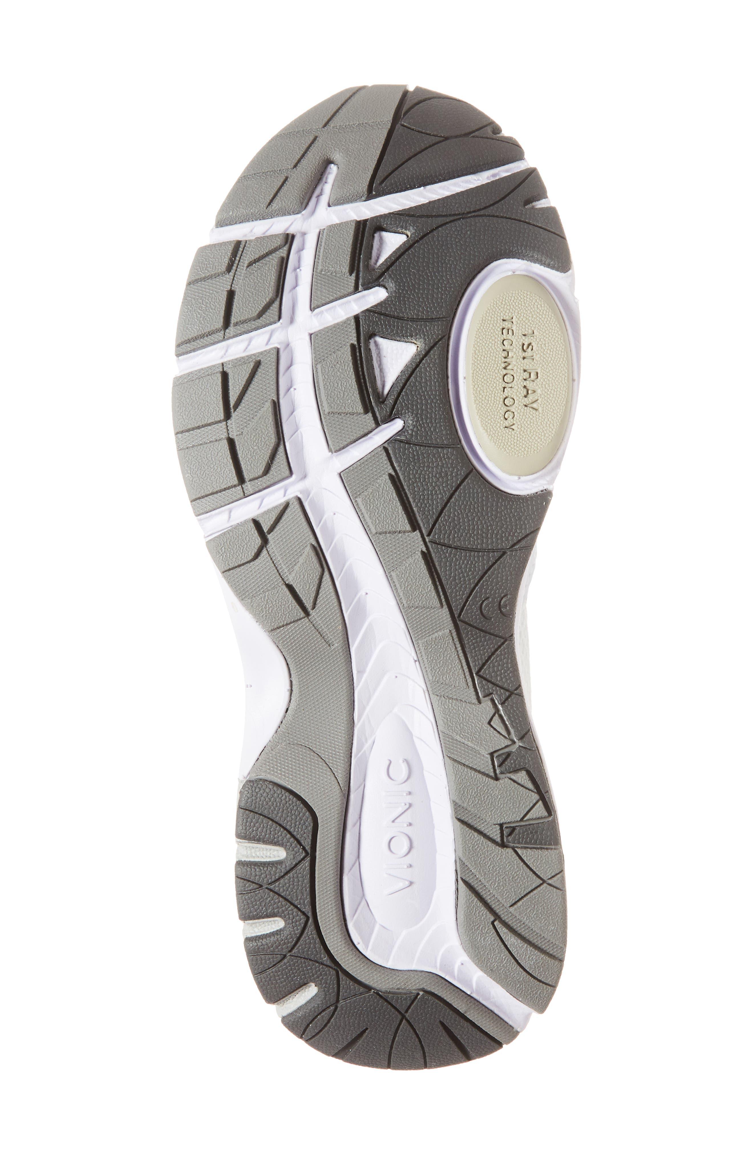 'Satima' Sneaker,                             Alternate thumbnail 6, color,                             WHITE FABRIC