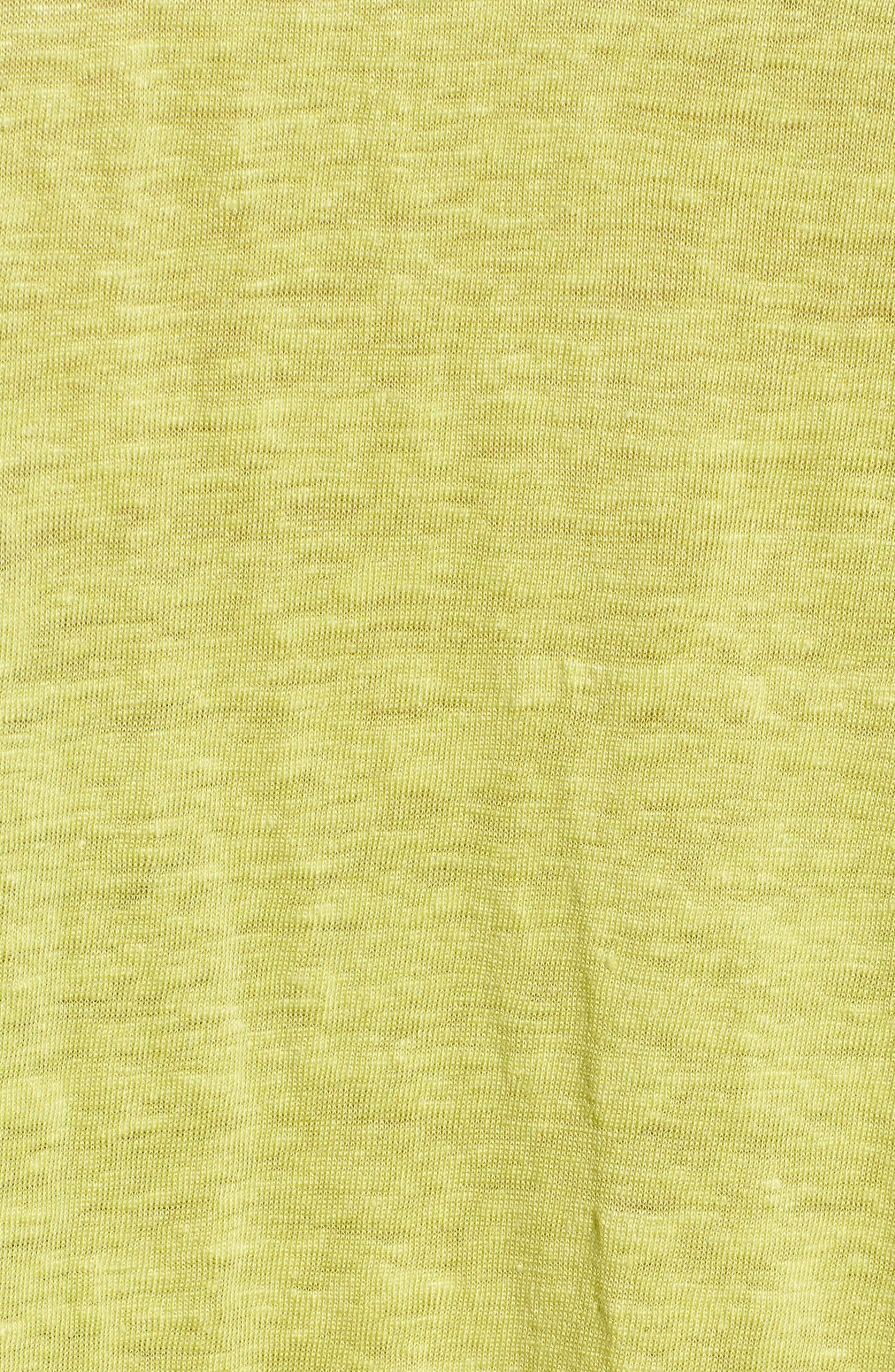 Slouchy Organic Linen Top,                             Alternate thumbnail 29, color,