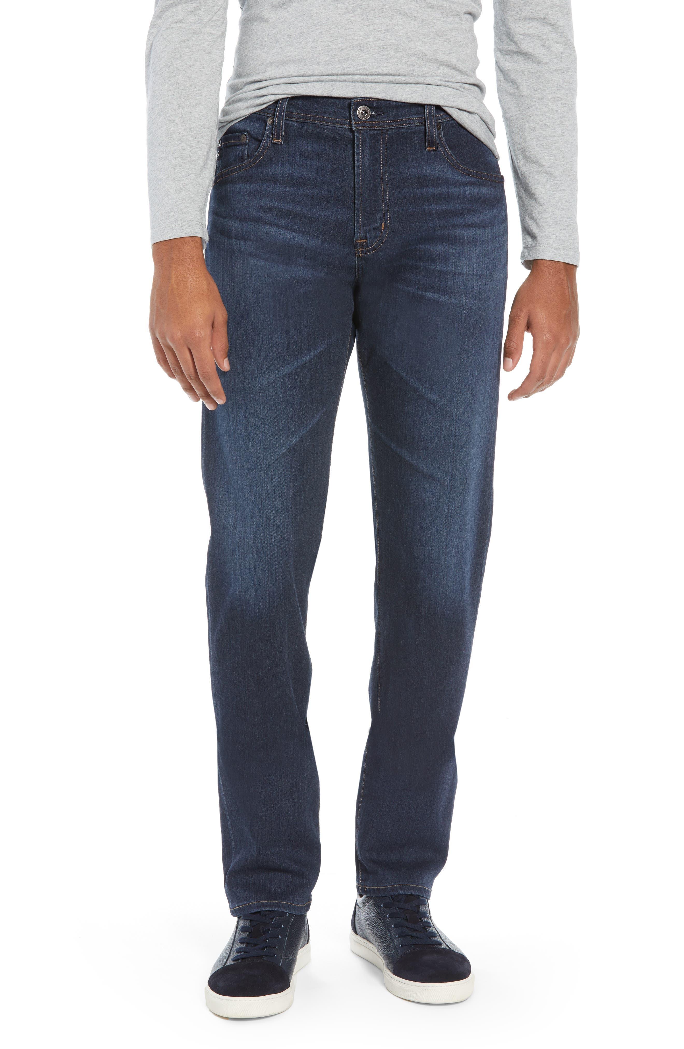 Men's Ag Tellis Slim Fit Jeans, Size 28 x 34 - Blue