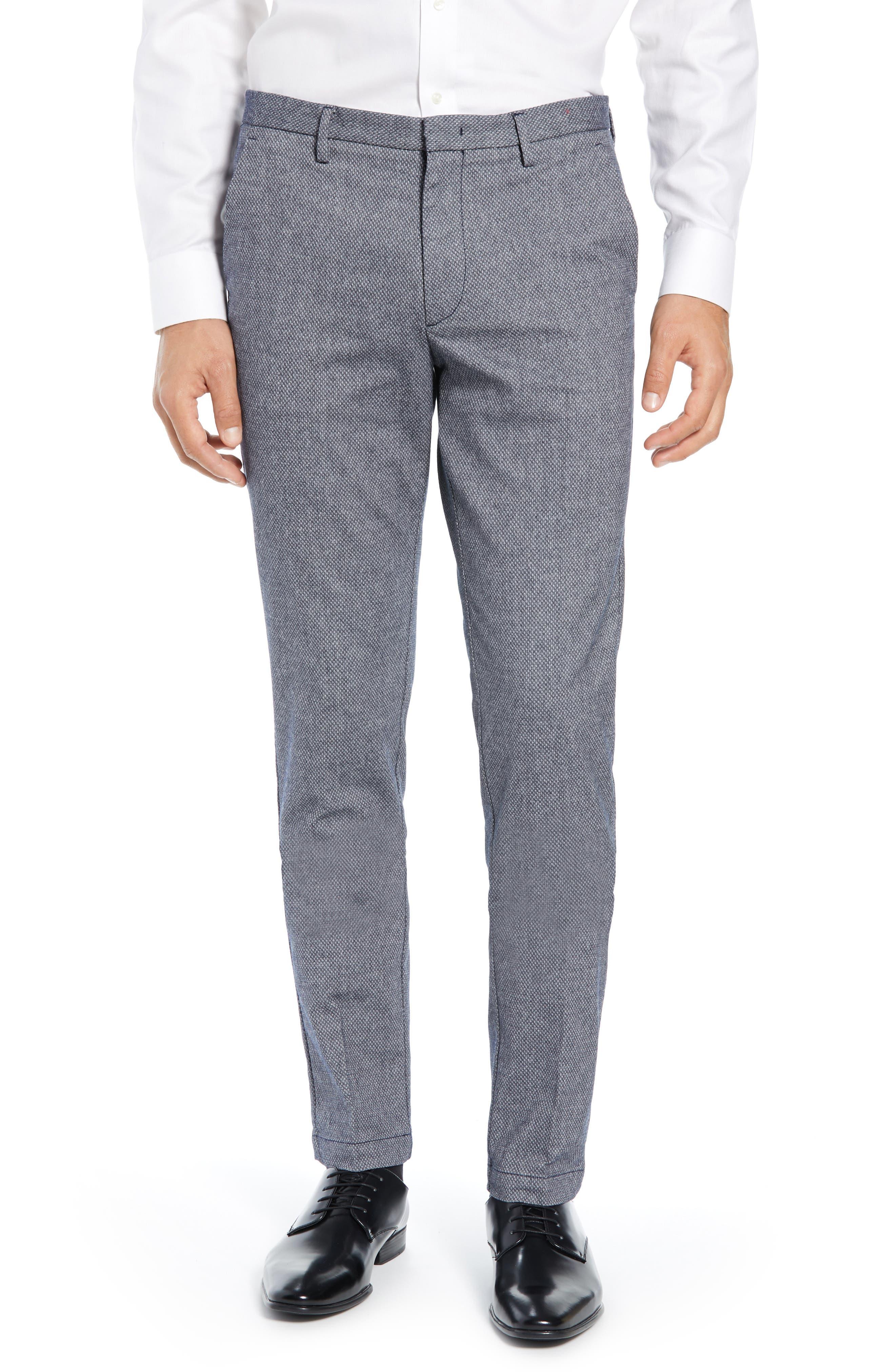 Kaito Slim Fit Pants,                         Main,                         color, NAVY