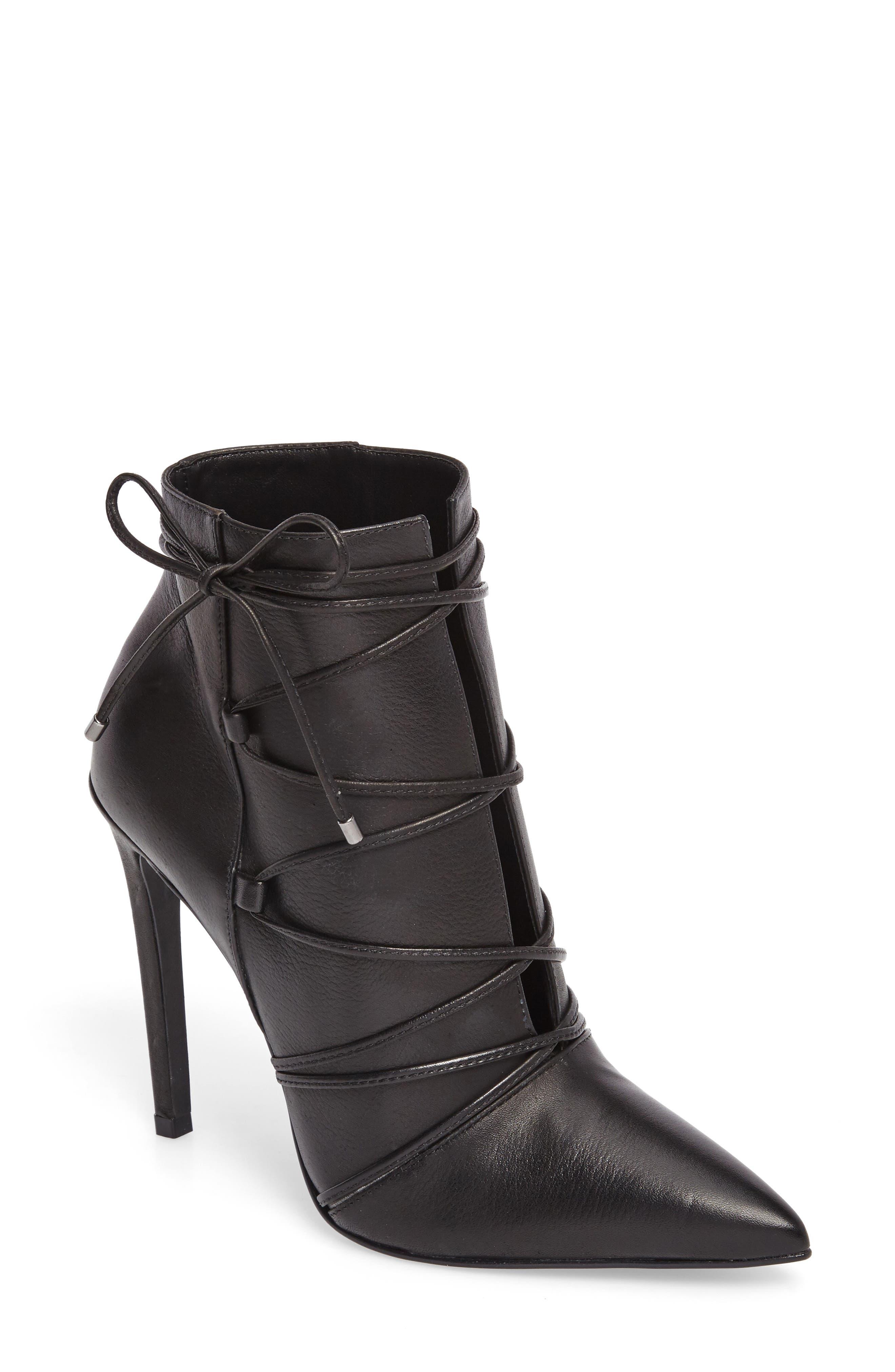 Anika Pointy Toe Boot,                         Main,                         color, 001