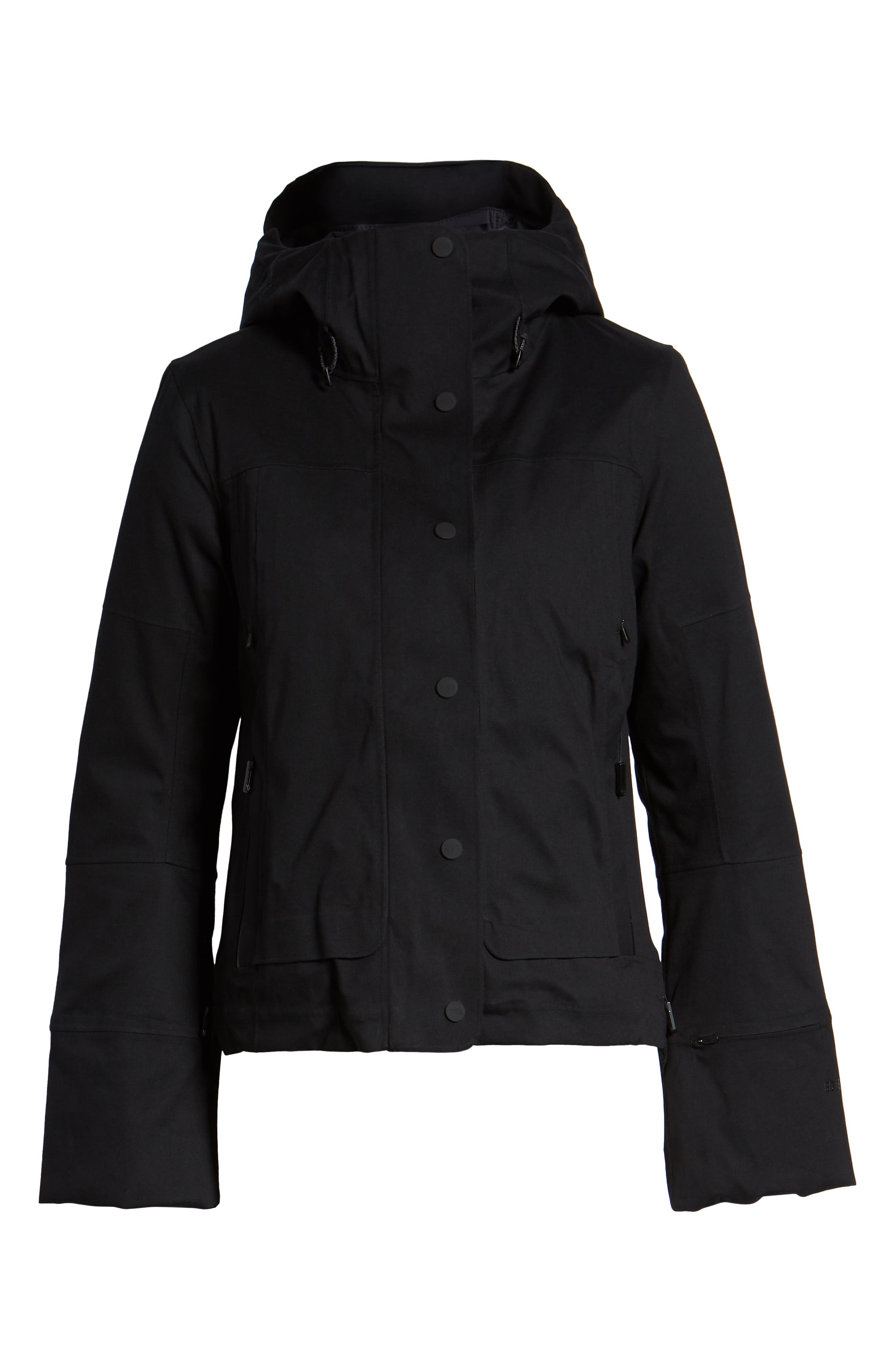 THE NORTH FACE,                             Cryos 2L Mountain Gore-Tex<sup>®</sup> Down Jacket,                             Alternate thumbnail 6, color,                             TNF BLACK