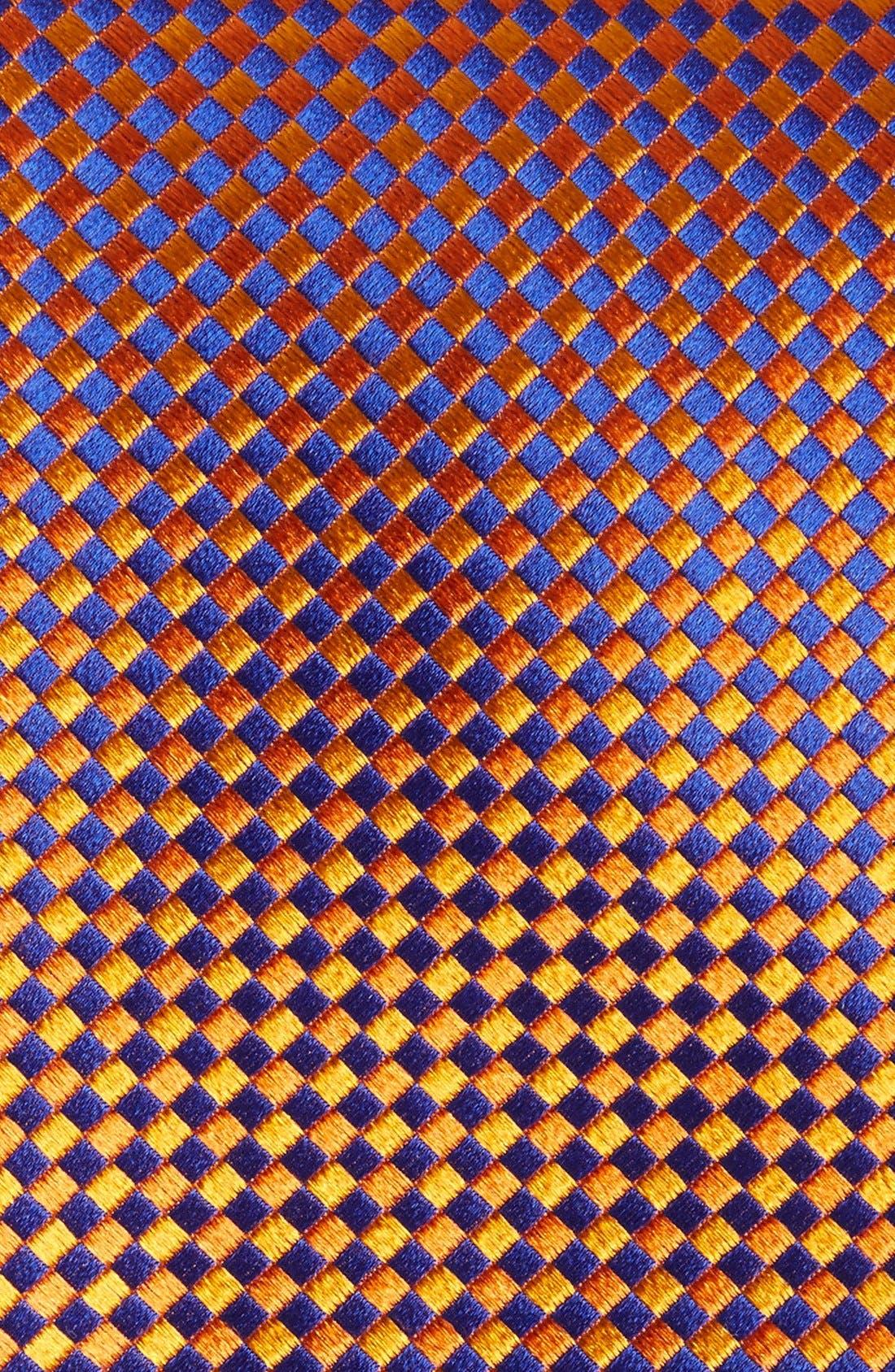Check Silk Tie,                             Alternate thumbnail 17, color,