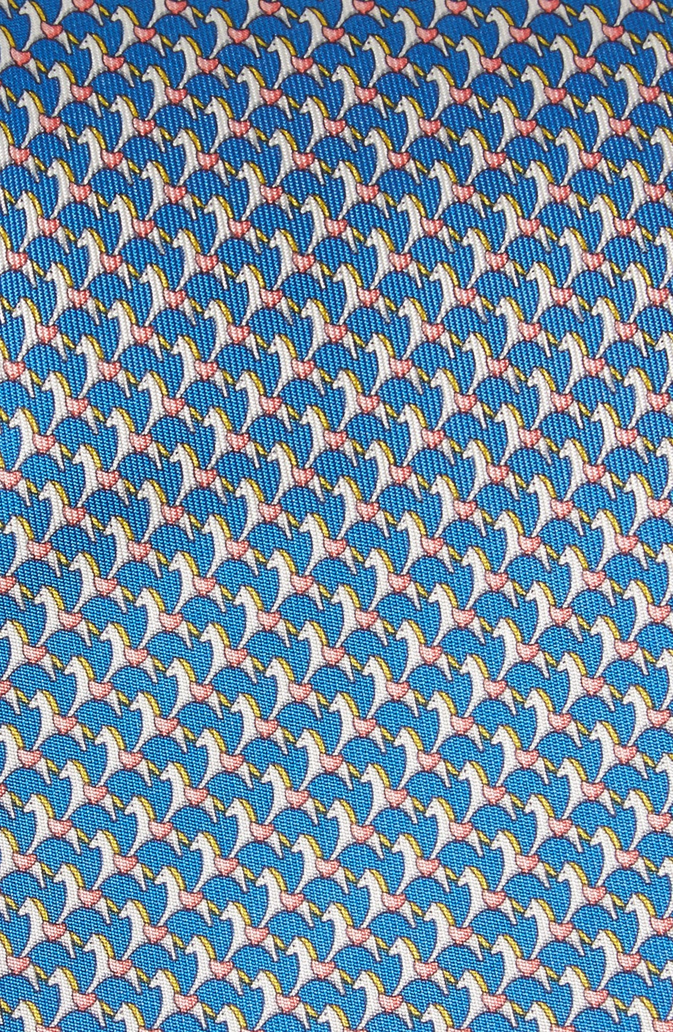 Edwin Print Silk Tie,                             Alternate thumbnail 3, color,