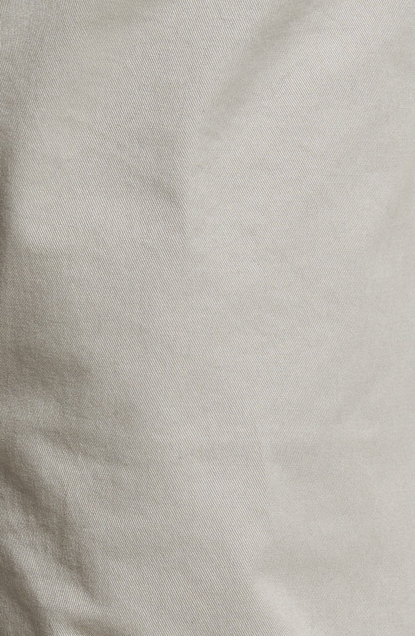 Tailored Fit Washed Stretch Cotton Chinos,                             Alternate thumbnail 167, color,