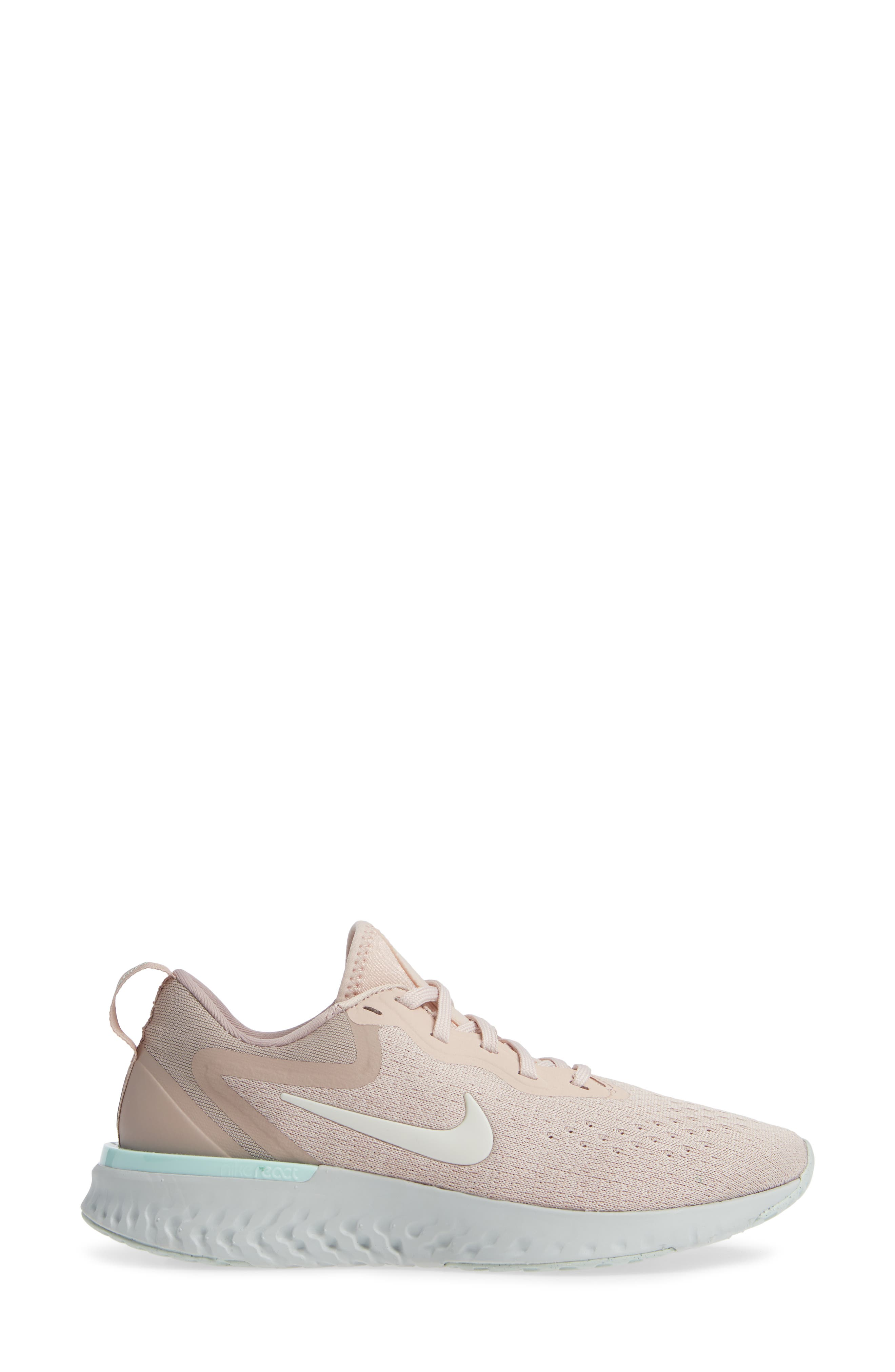 Odyssey React Running Shoe,                             Alternate thumbnail 3, color,                             BEIGE/ PHANTOM-DIFFUSED TAUPE