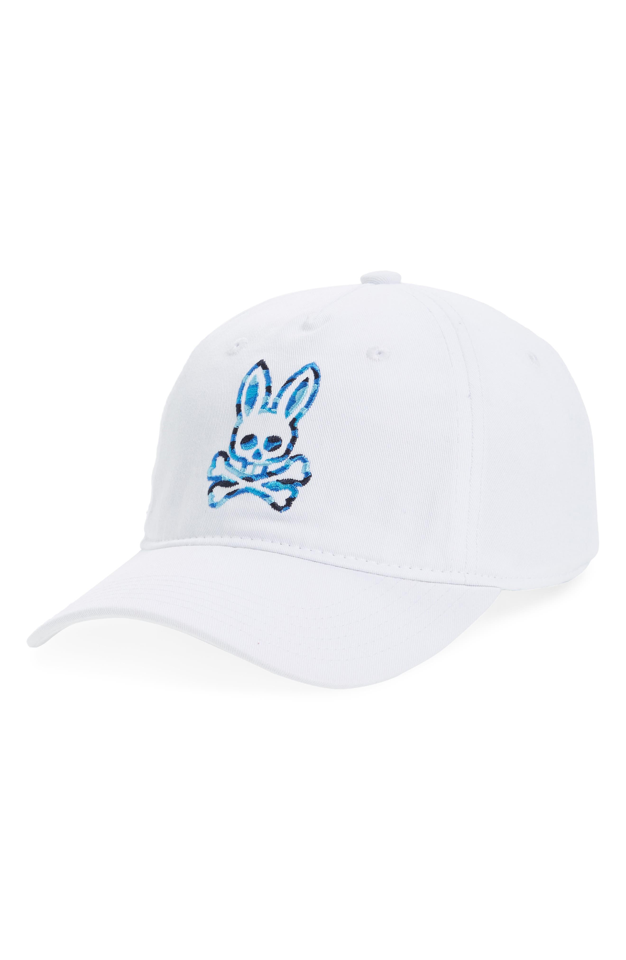 a02c852f0e1 Psycho Bunny Camo Bunny Ball Cap - White | ModeSens