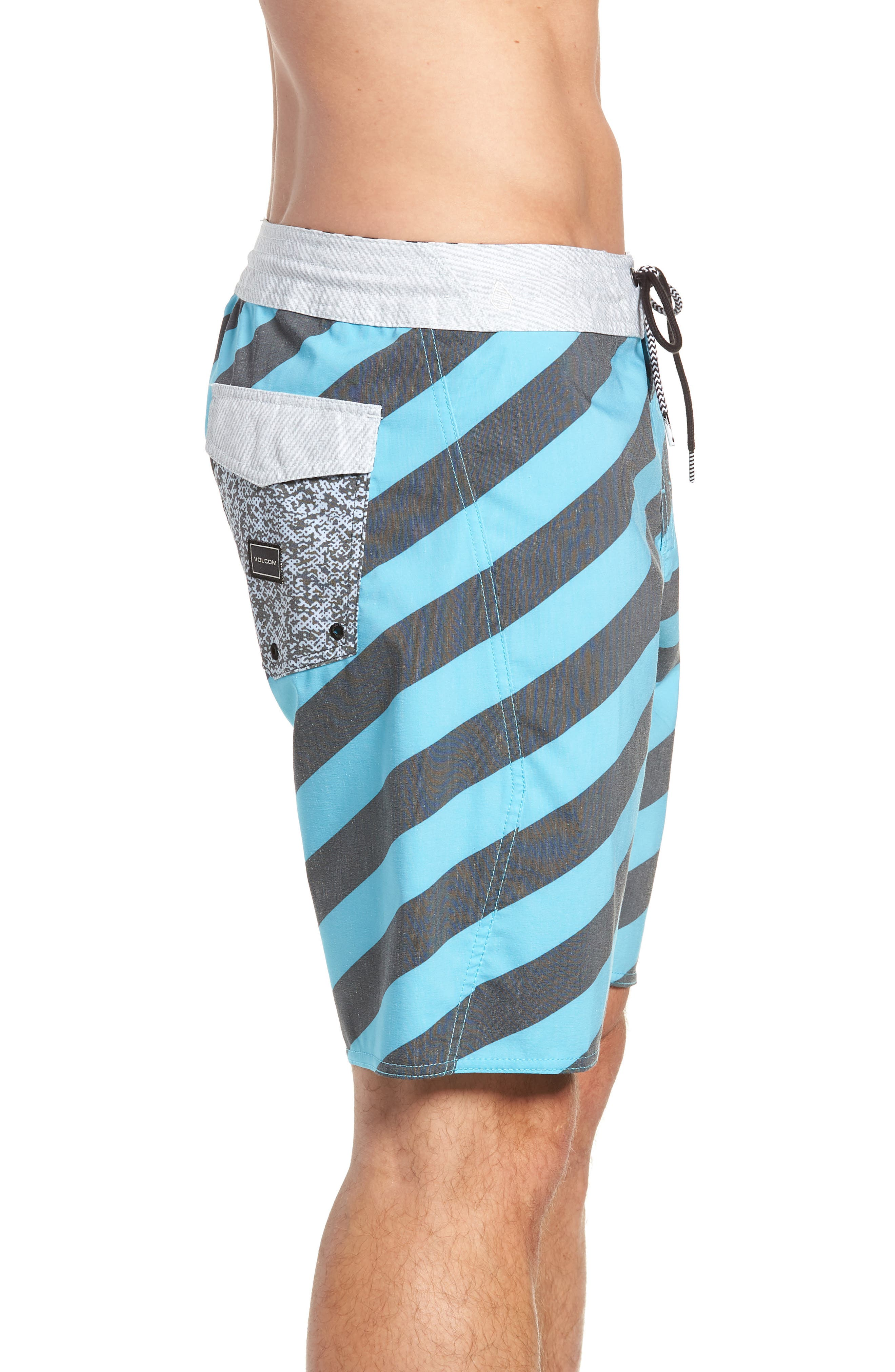 Stripey Stoney Boardshorts,                             Alternate thumbnail 4, color,                             470