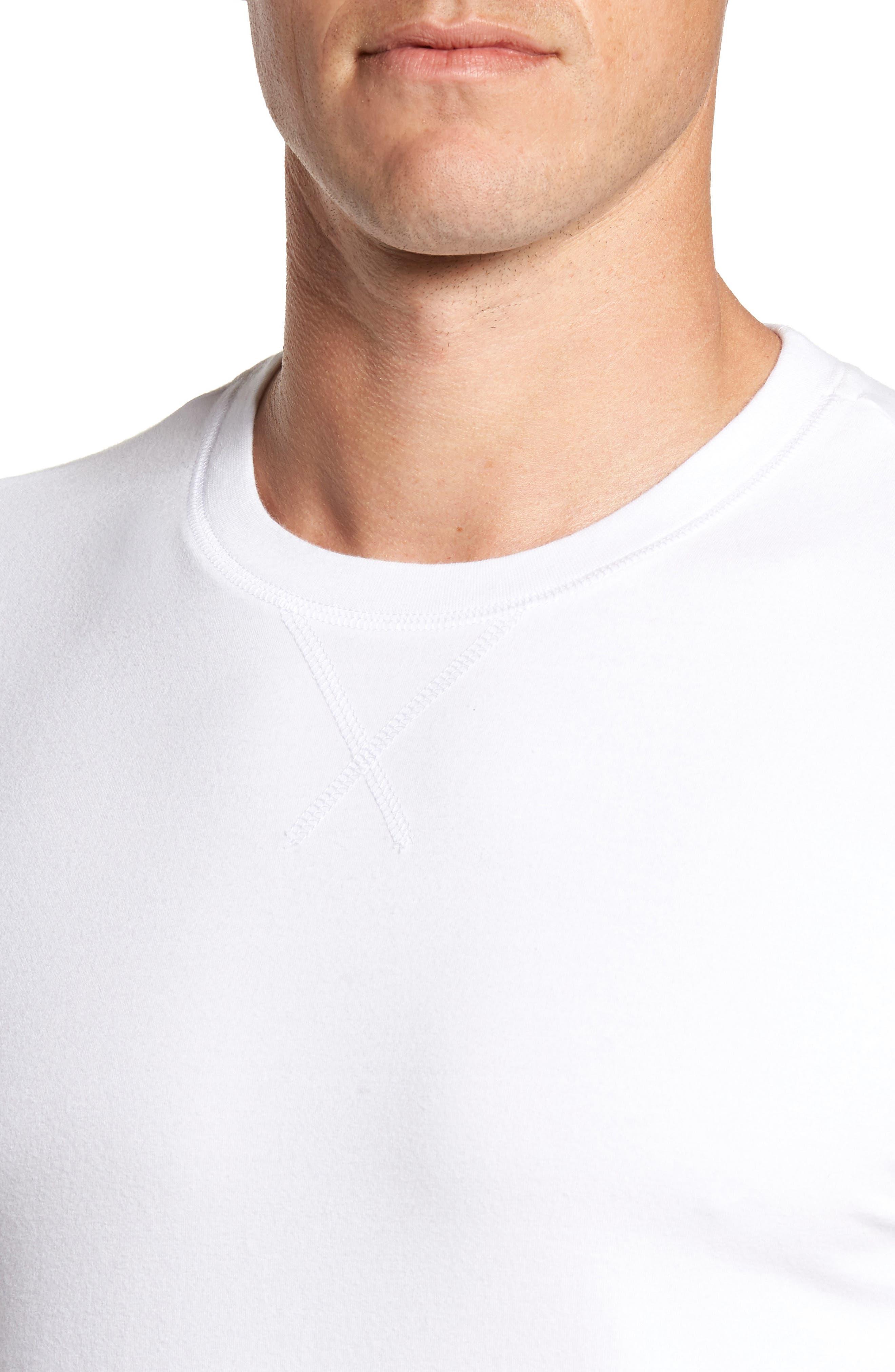 Stretch Cotton Long Sleeve T-Shirt,                             Alternate thumbnail 15, color,