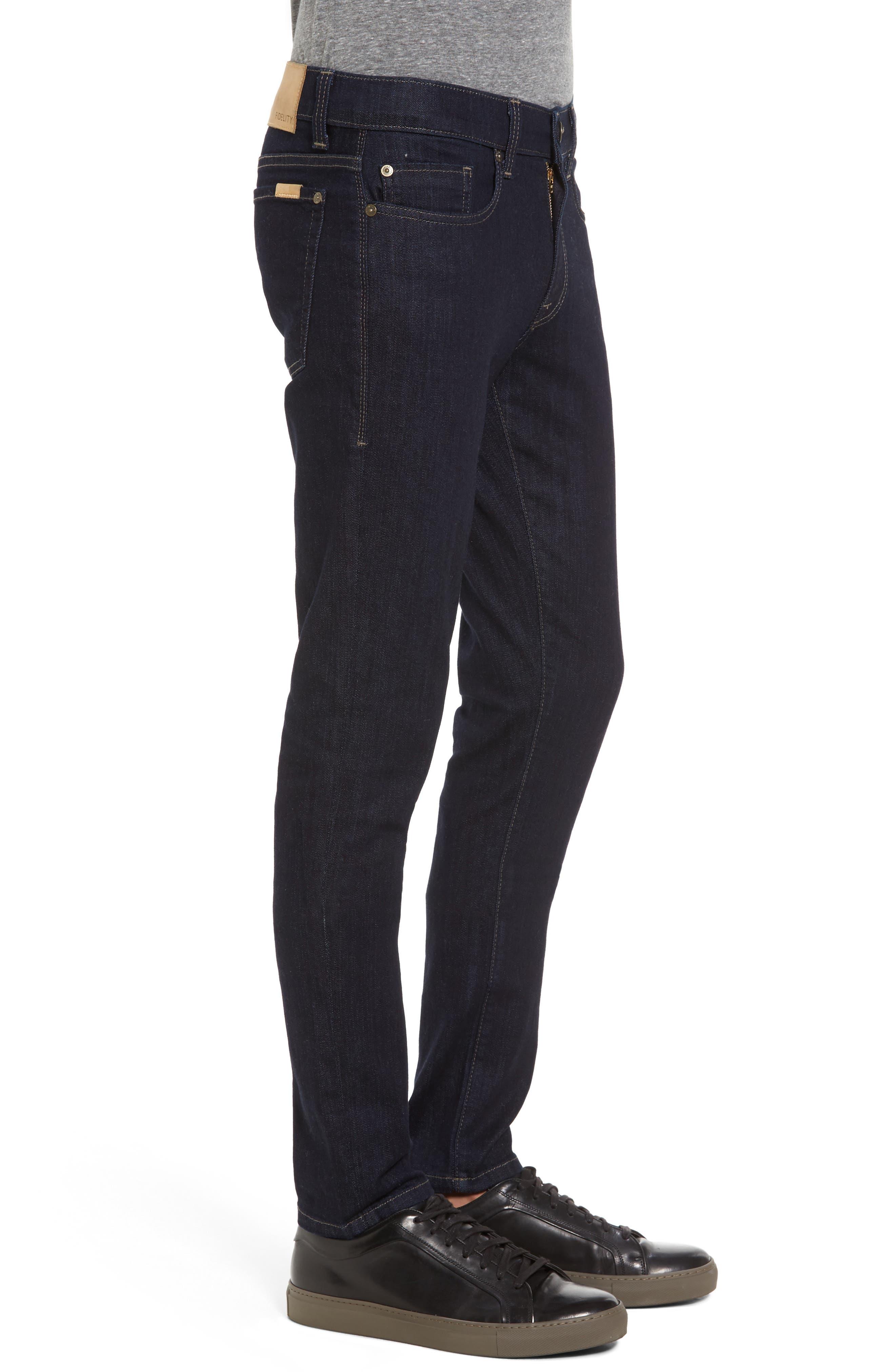 Vantage Skinny Fit Jeans,                             Alternate thumbnail 3, color,