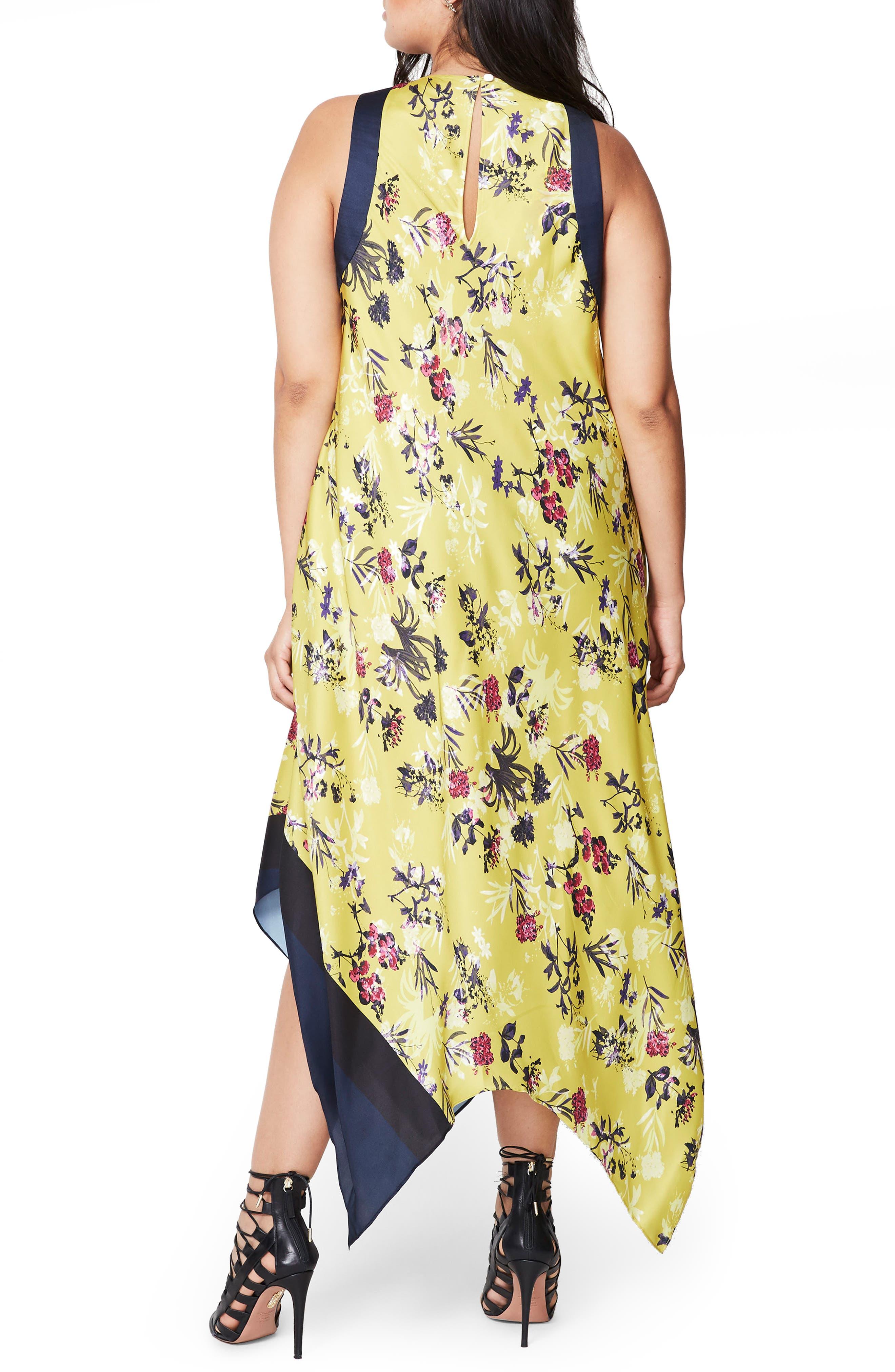 Rachel Roy Scarf Print Maxi Dress,                             Alternate thumbnail 2, color,                             950