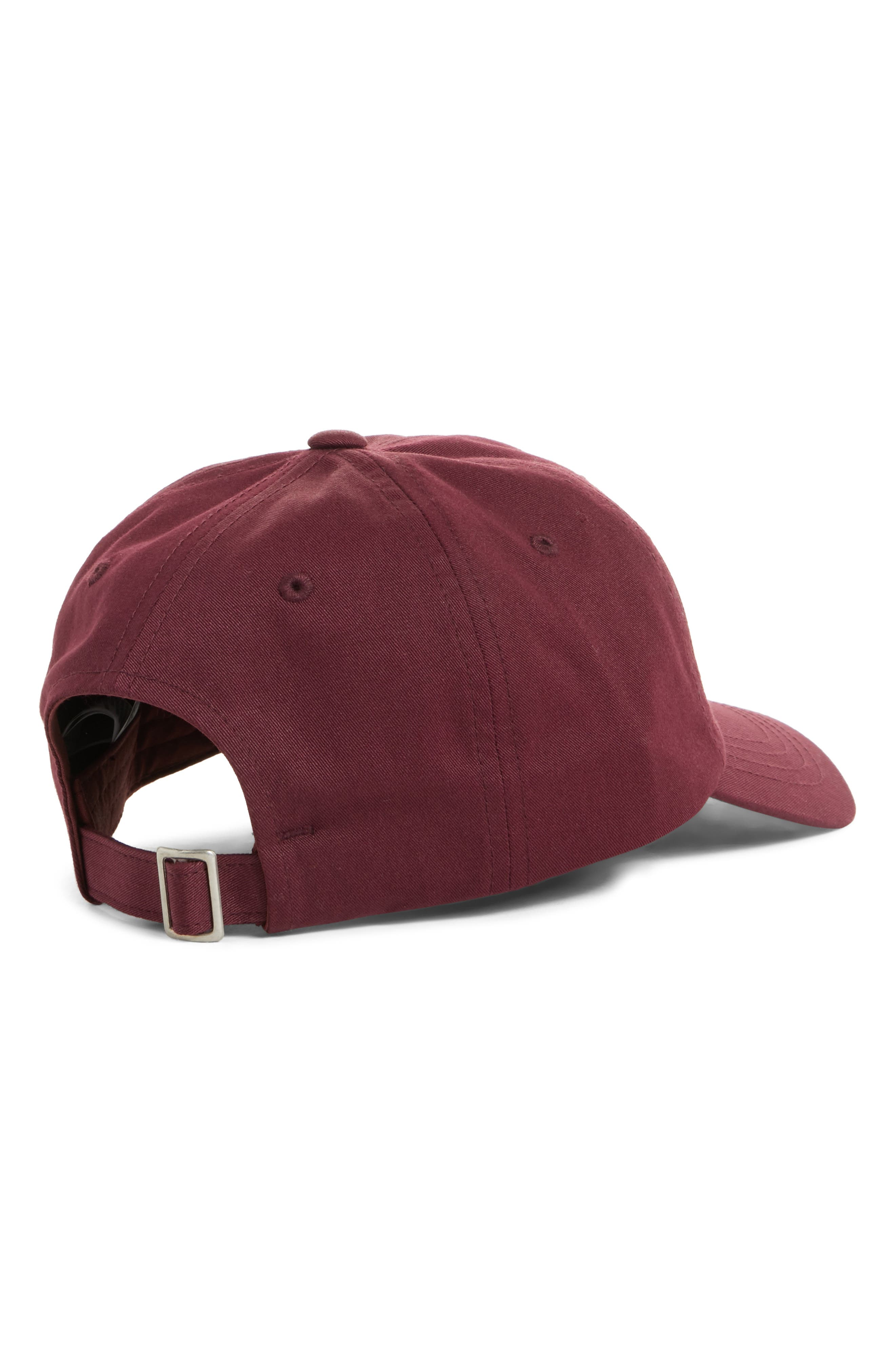 Norm Poppy Embroidered Adjustable Cap,                             Alternate thumbnail 9, color,
