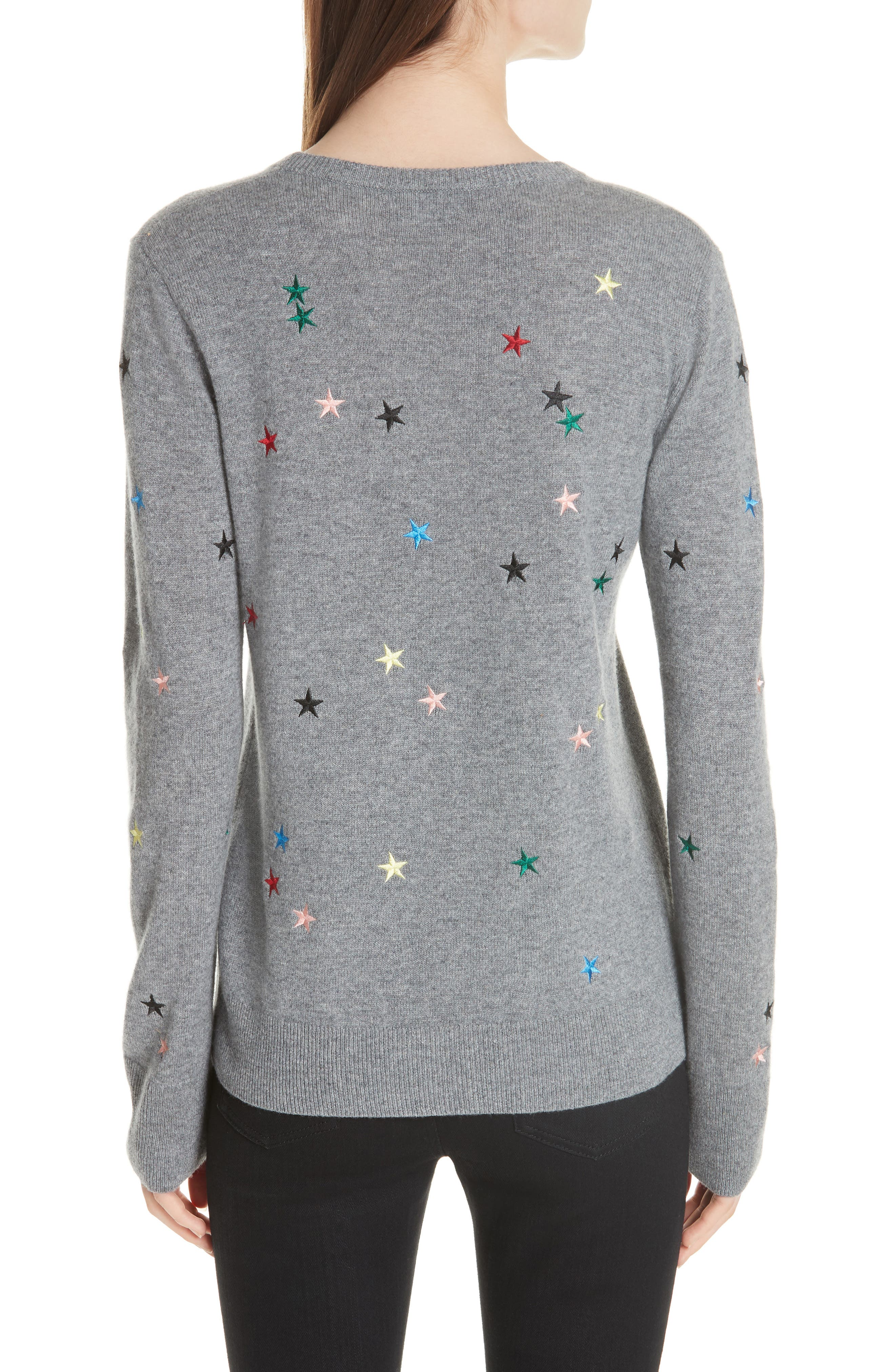 Shane Star Cashmere Sweater,                             Alternate thumbnail 2, color,                             030