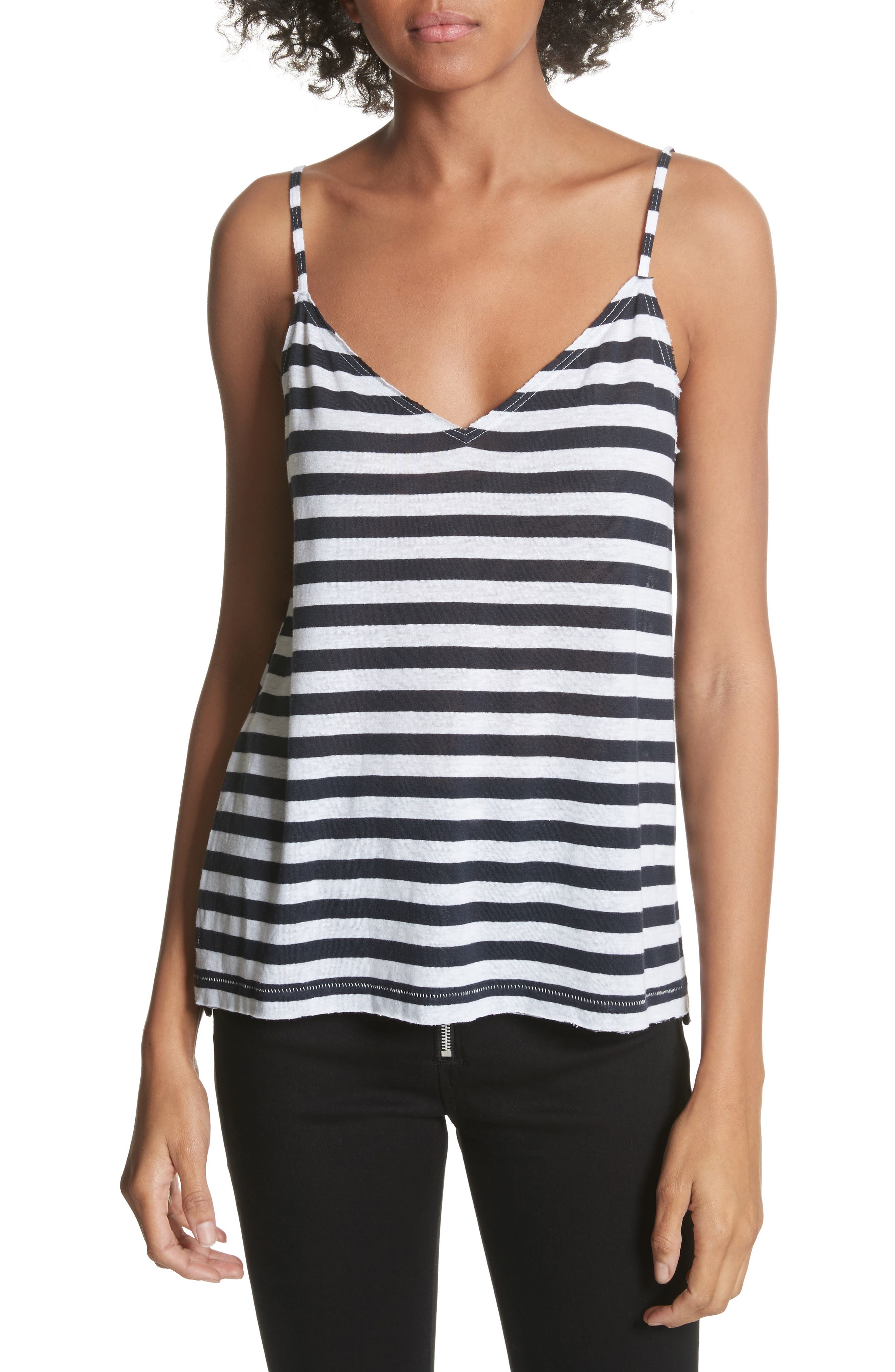 RAG & BONE JEAN Laila Stripe Camisole, Main, color, 410