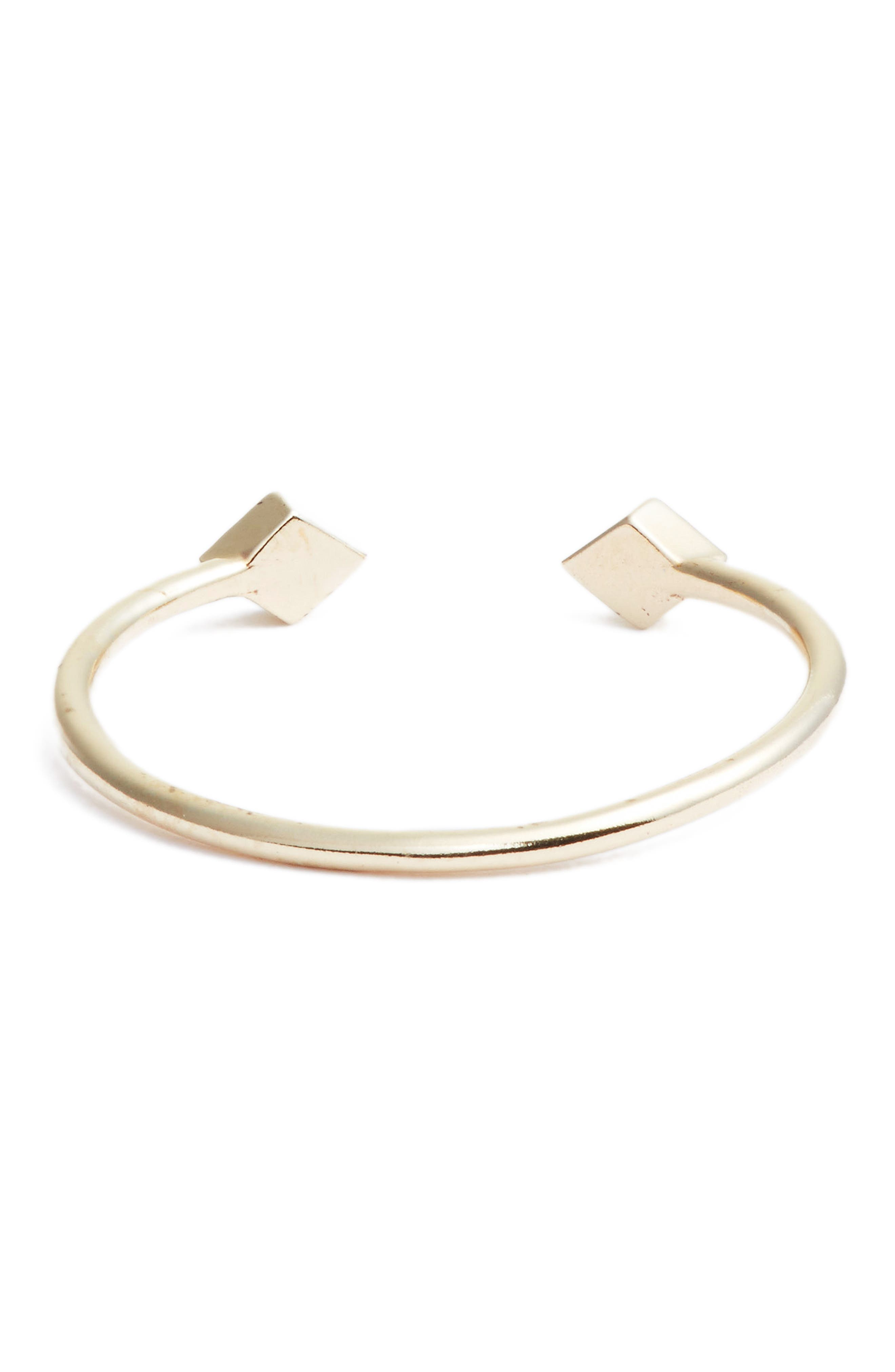 Open Diamond Ring,                             Alternate thumbnail 3, color,                             YELLOW GOLD