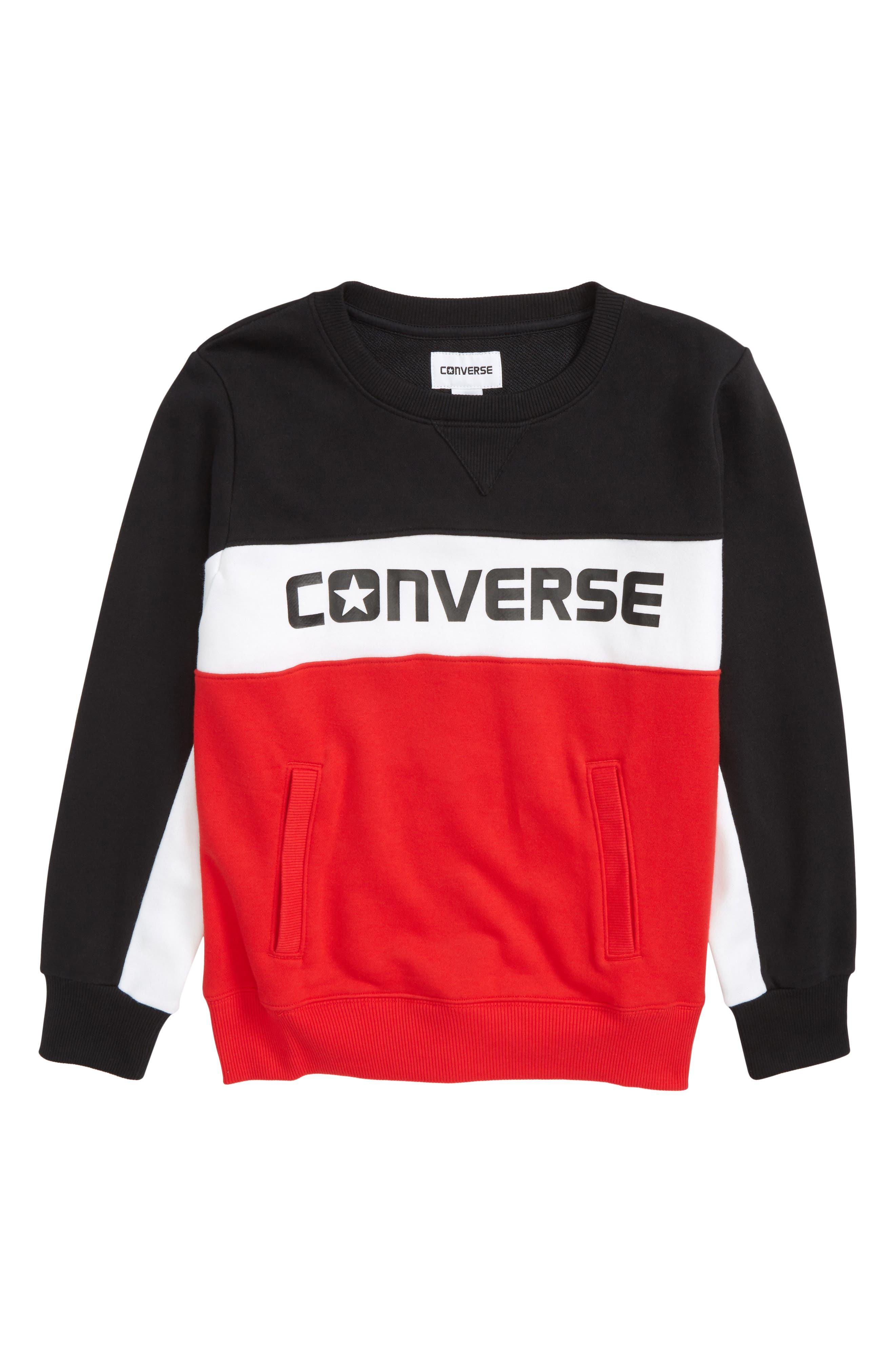 Colorblock Logo Sweatshirt,                         Main,                         color, 600