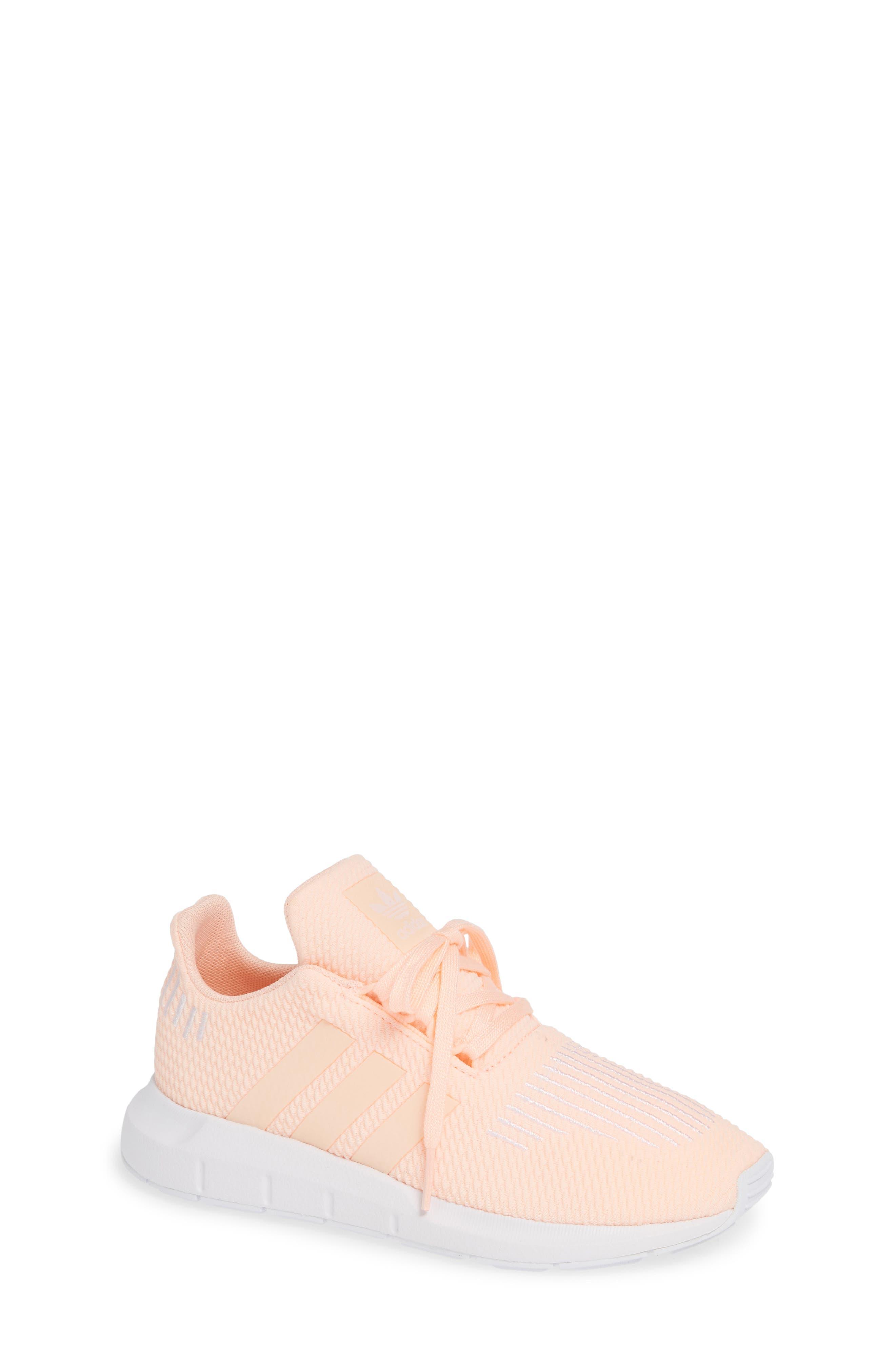 Toddler Adidas Swift Run J Sneaker Size 105 M  Coral