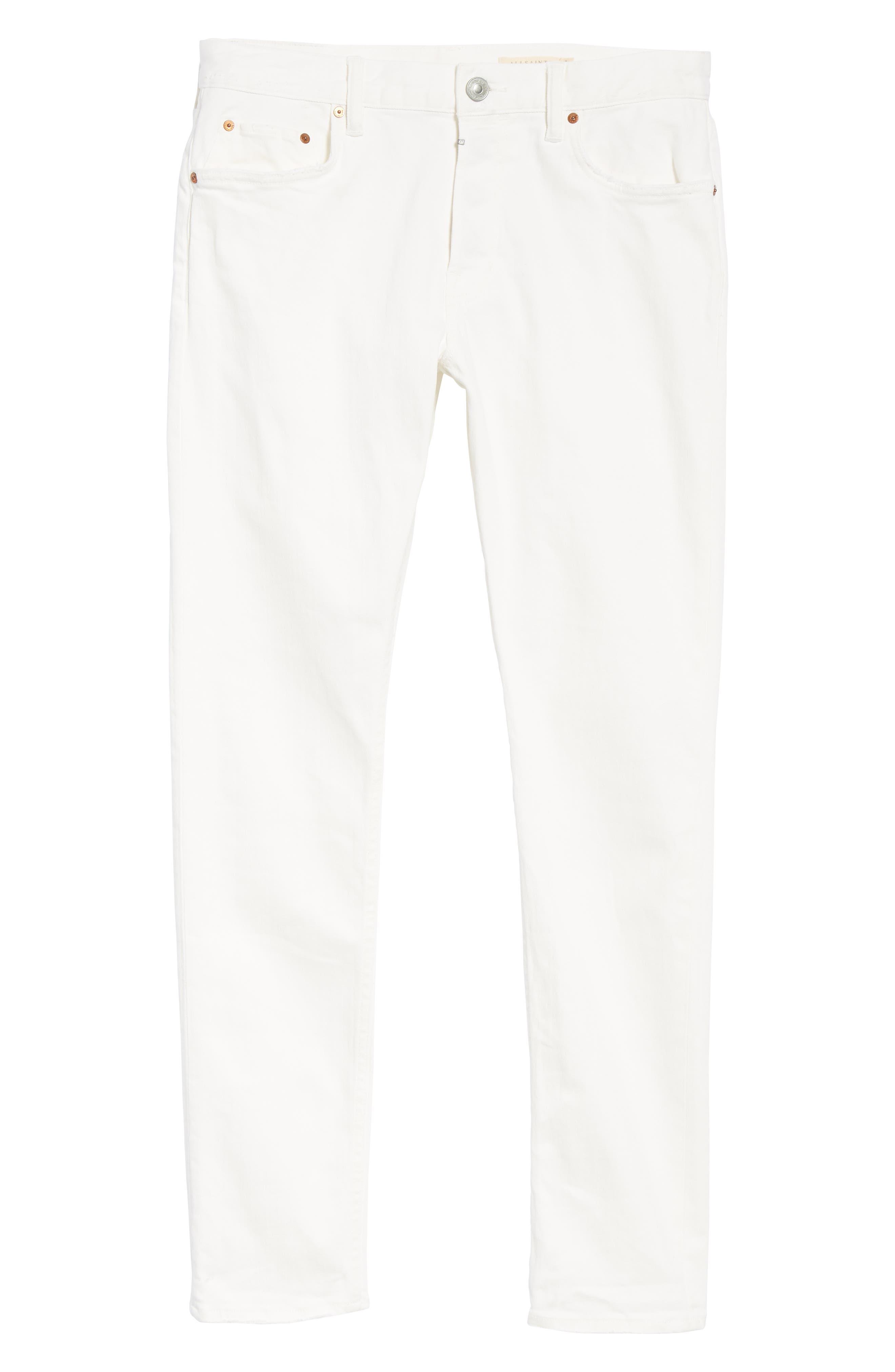Weott Rex Slim Fit Jeans,                             Alternate thumbnail 6, color,                             100