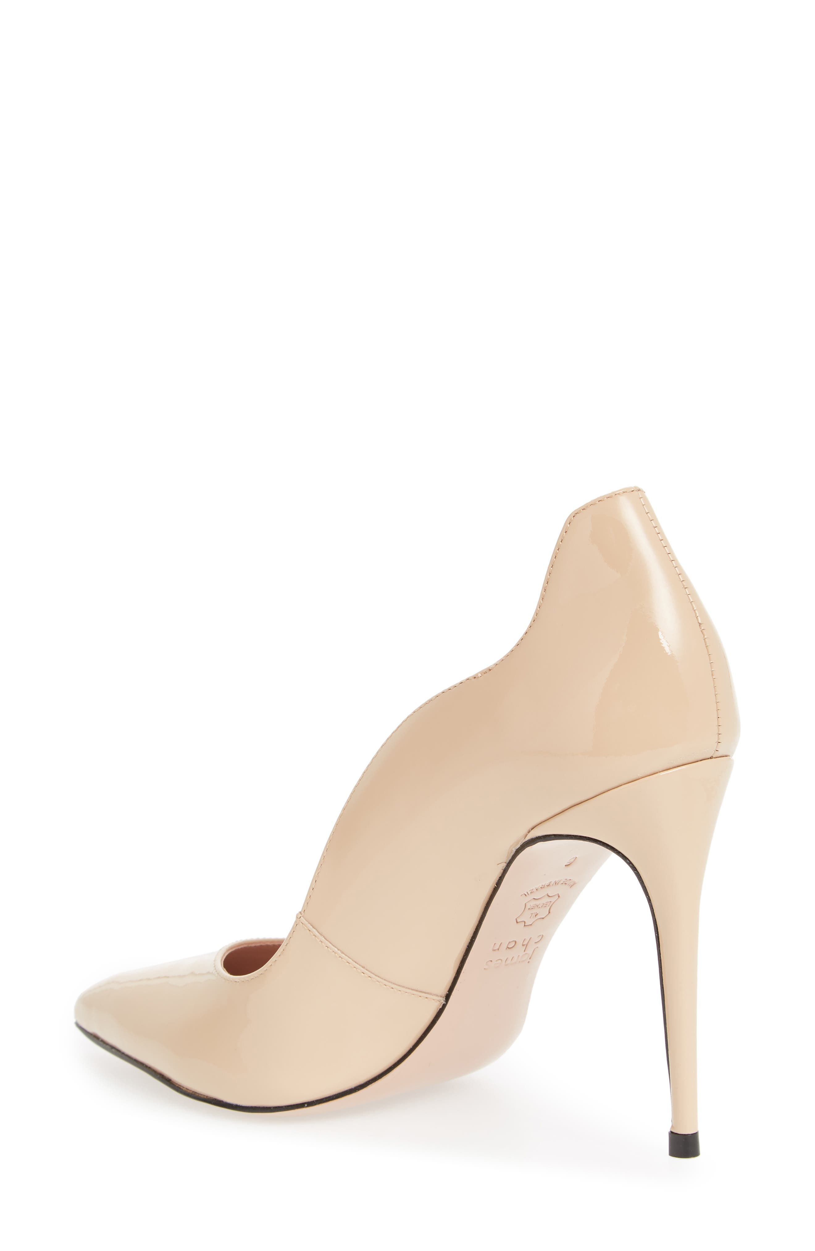 Anika Curvy Pump,                             Alternate thumbnail 2, color,                             NUDE SUEDE