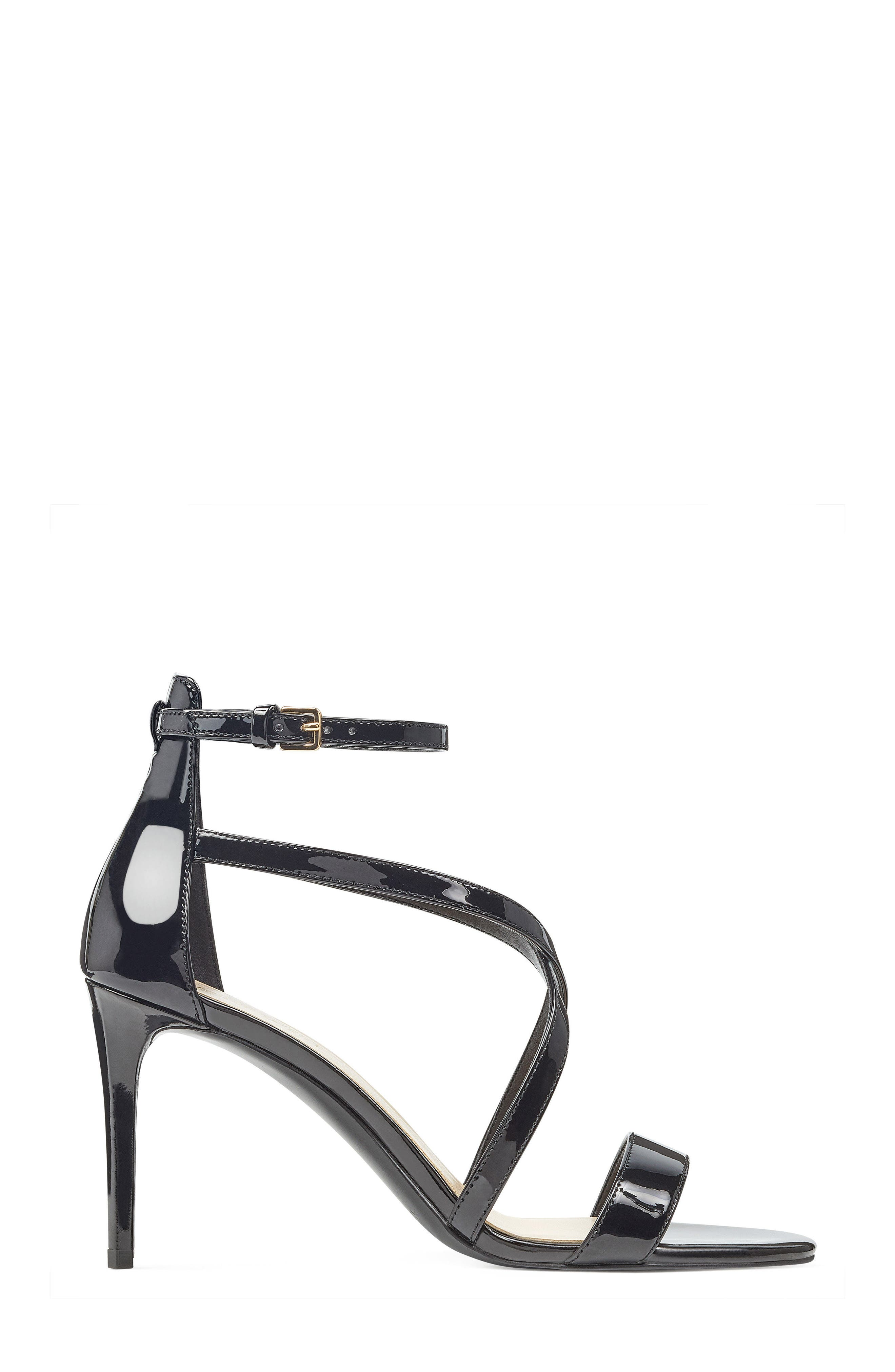 NINE WEST,                             Retail Therapy Strappy Sandal,                             Alternate thumbnail 3, color,                             001