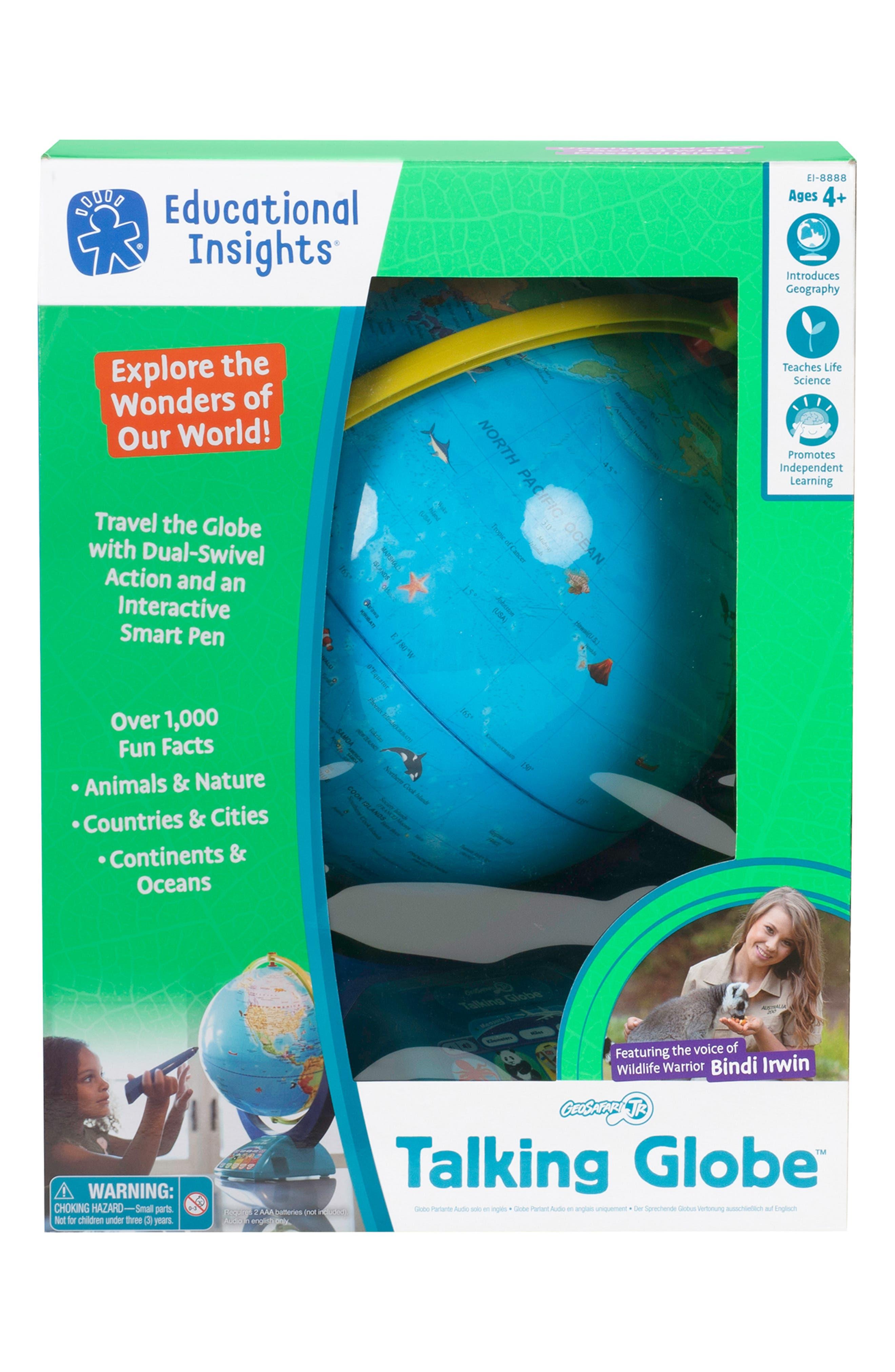 Geosafari<sup>®</sup> Jr. Talking Globe<sup>™</sup>,                             Alternate thumbnail 2, color,                             960