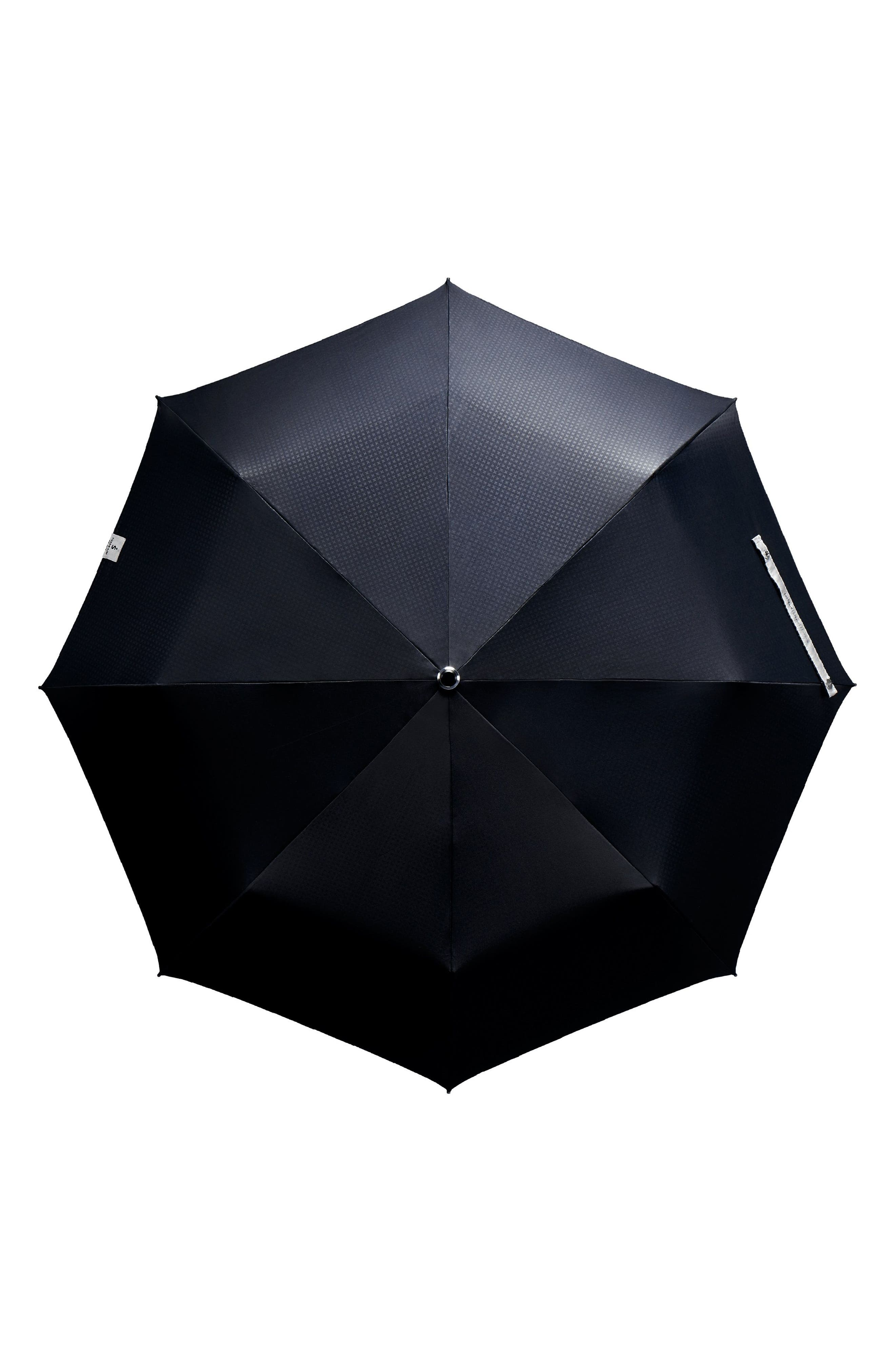 Stratus Auto Open Stick Umbrella,                             Alternate thumbnail 3, color,                             001