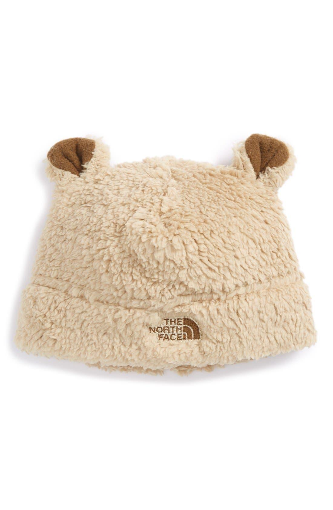 'Baby Bear' Fleece Beanie,                             Main thumbnail 1, color,                             260