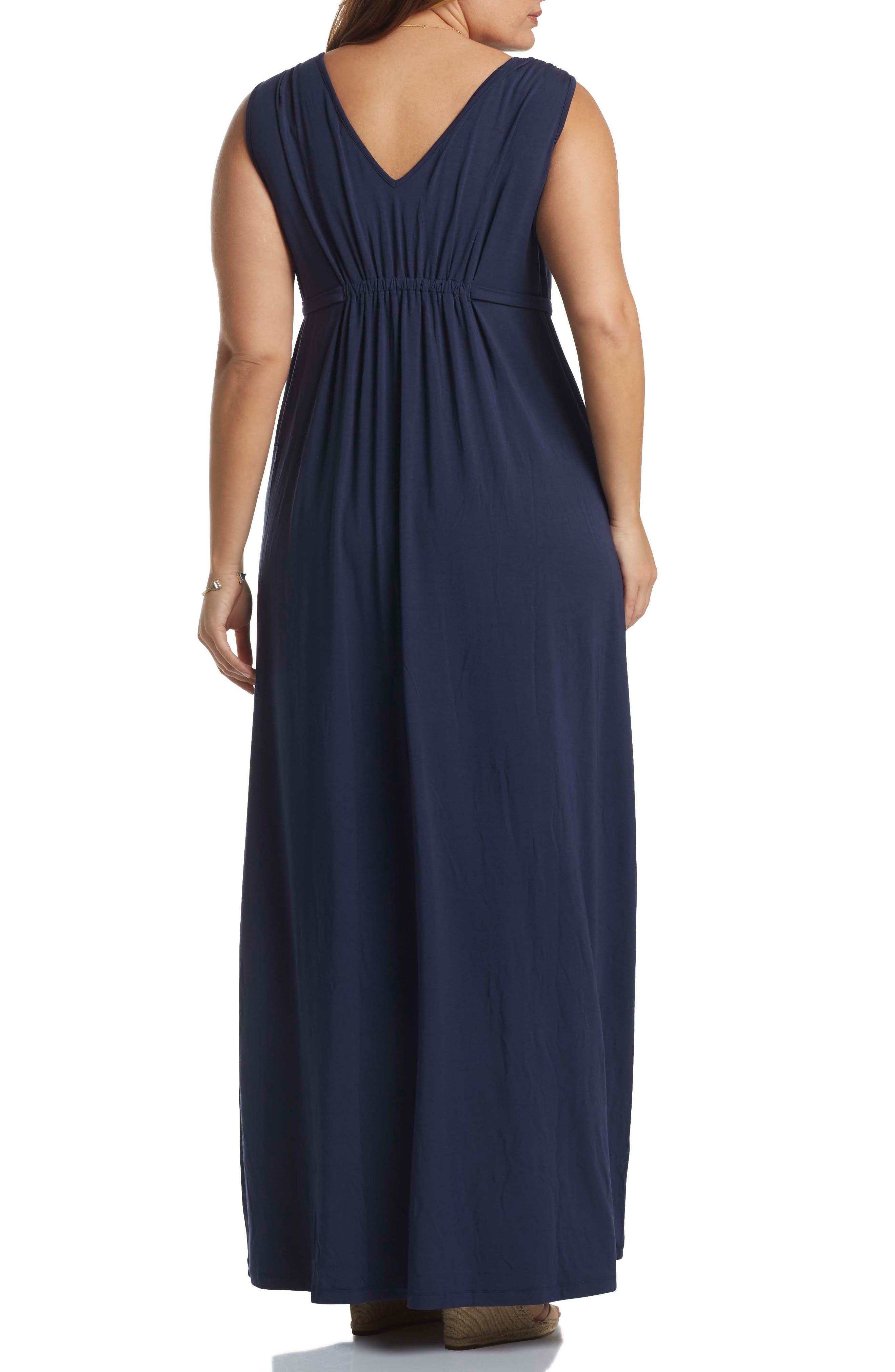 Grecia Sleeveless Jersey Maxi Dress,                             Alternate thumbnail 15, color,