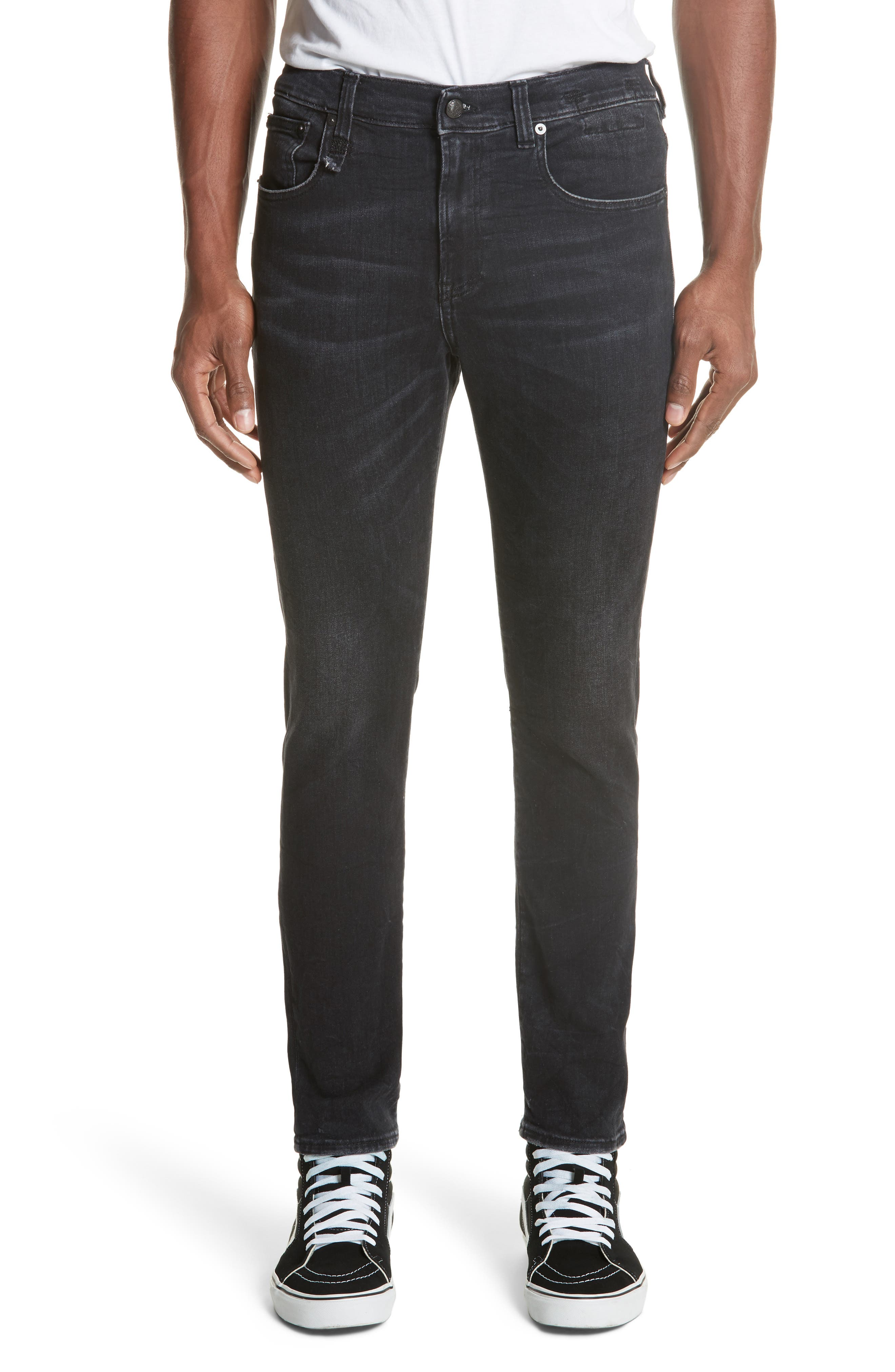 Skate Jeans,                         Main,                         color, BLACK MARBLE