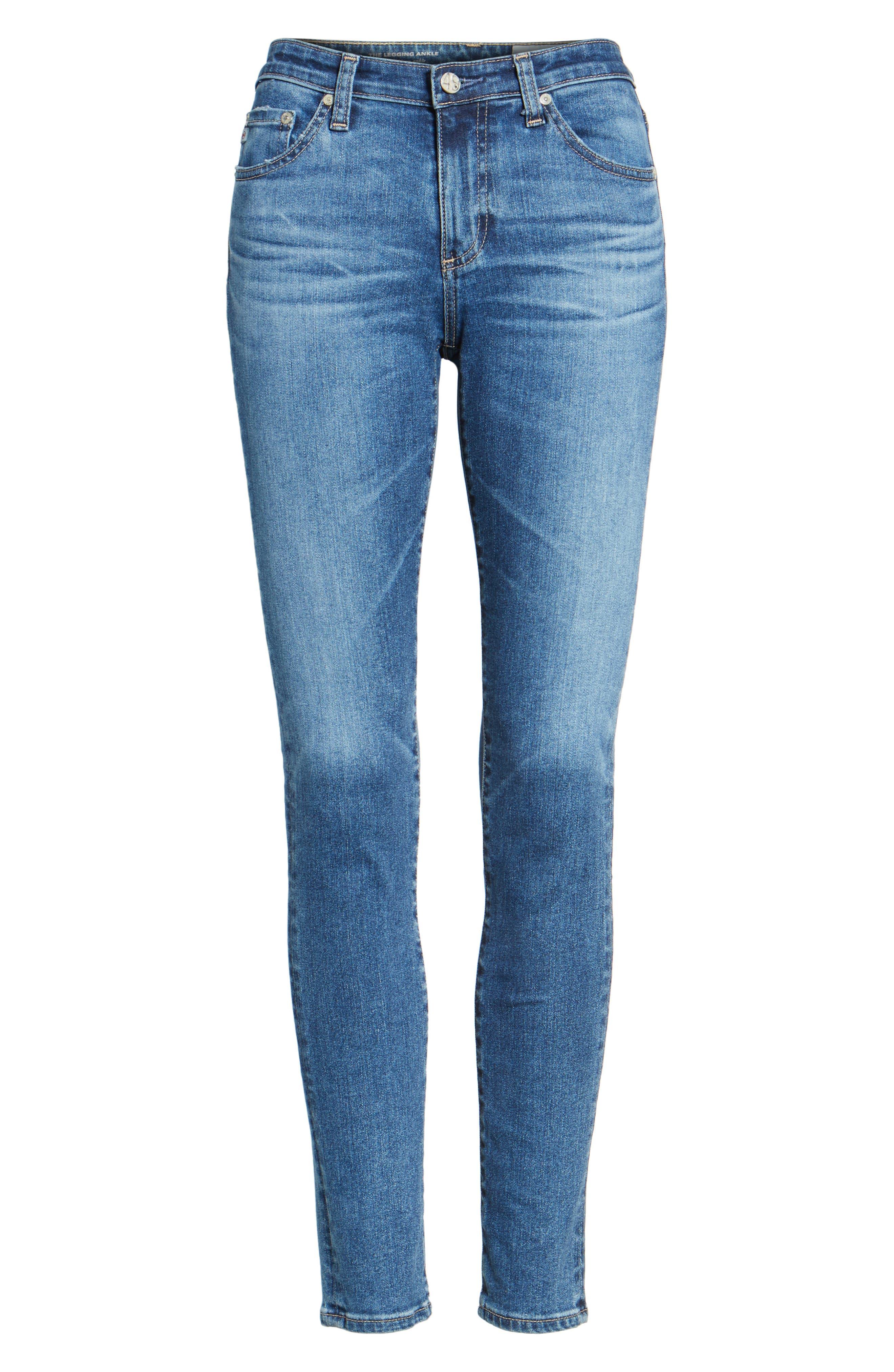 The Legging Ankle Super Skinny Jeans,                             Alternate thumbnail 76, color,