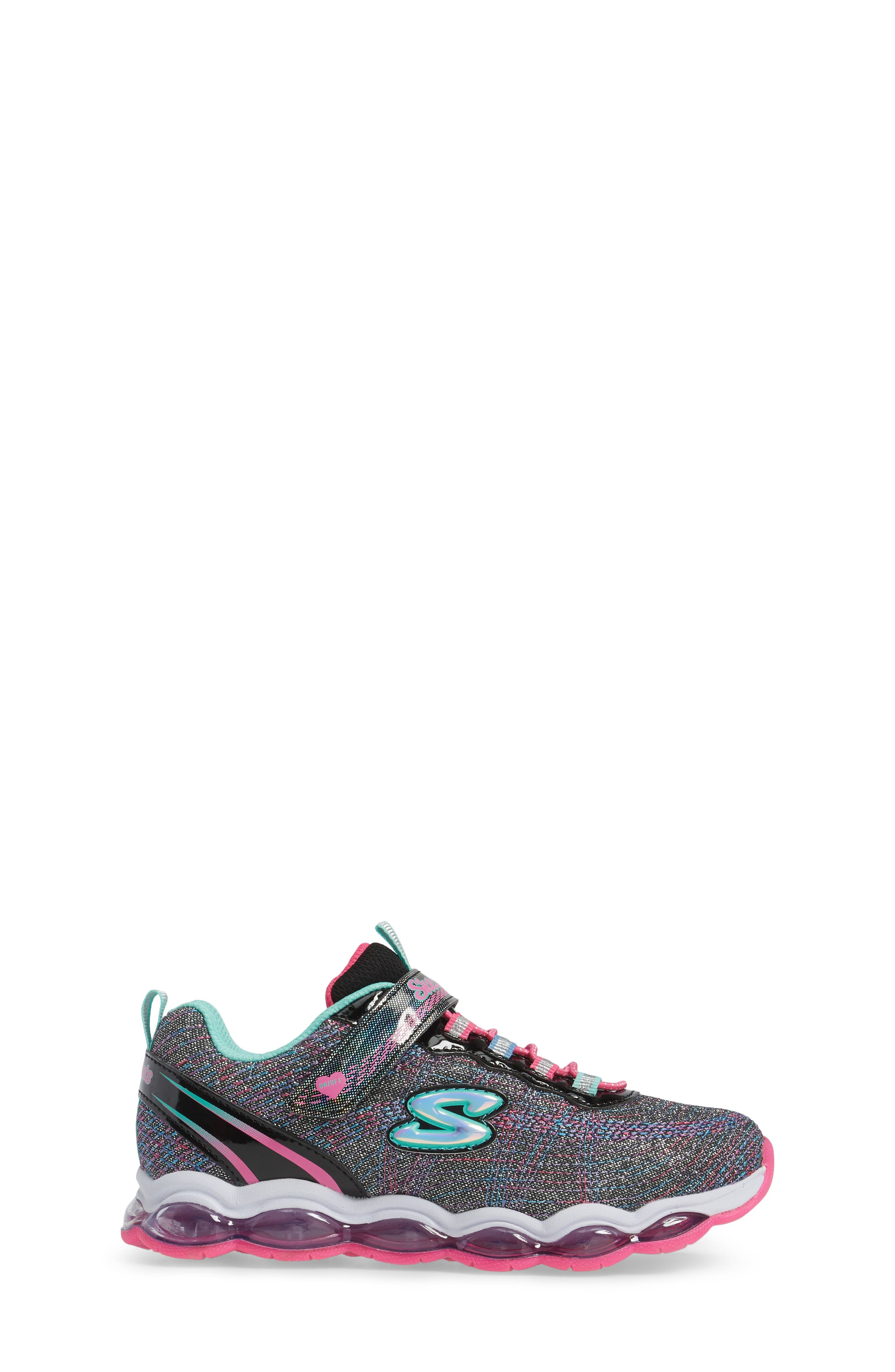 Glimmer Lights Sneakers,                             Alternate thumbnail 3, color,                             001