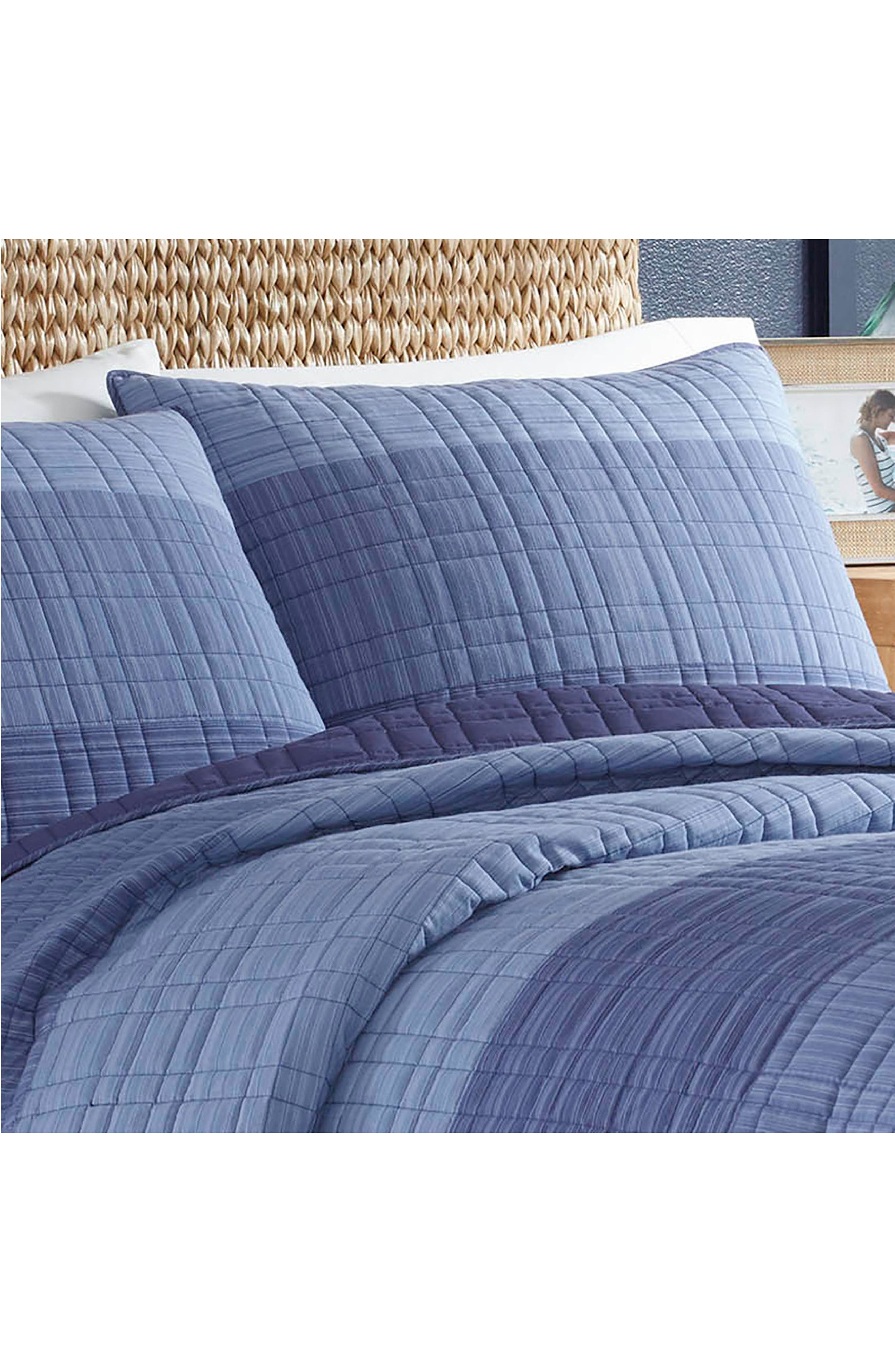 Riverview Quilted Sham,                             Alternate thumbnail 2, color,                             BLUE
