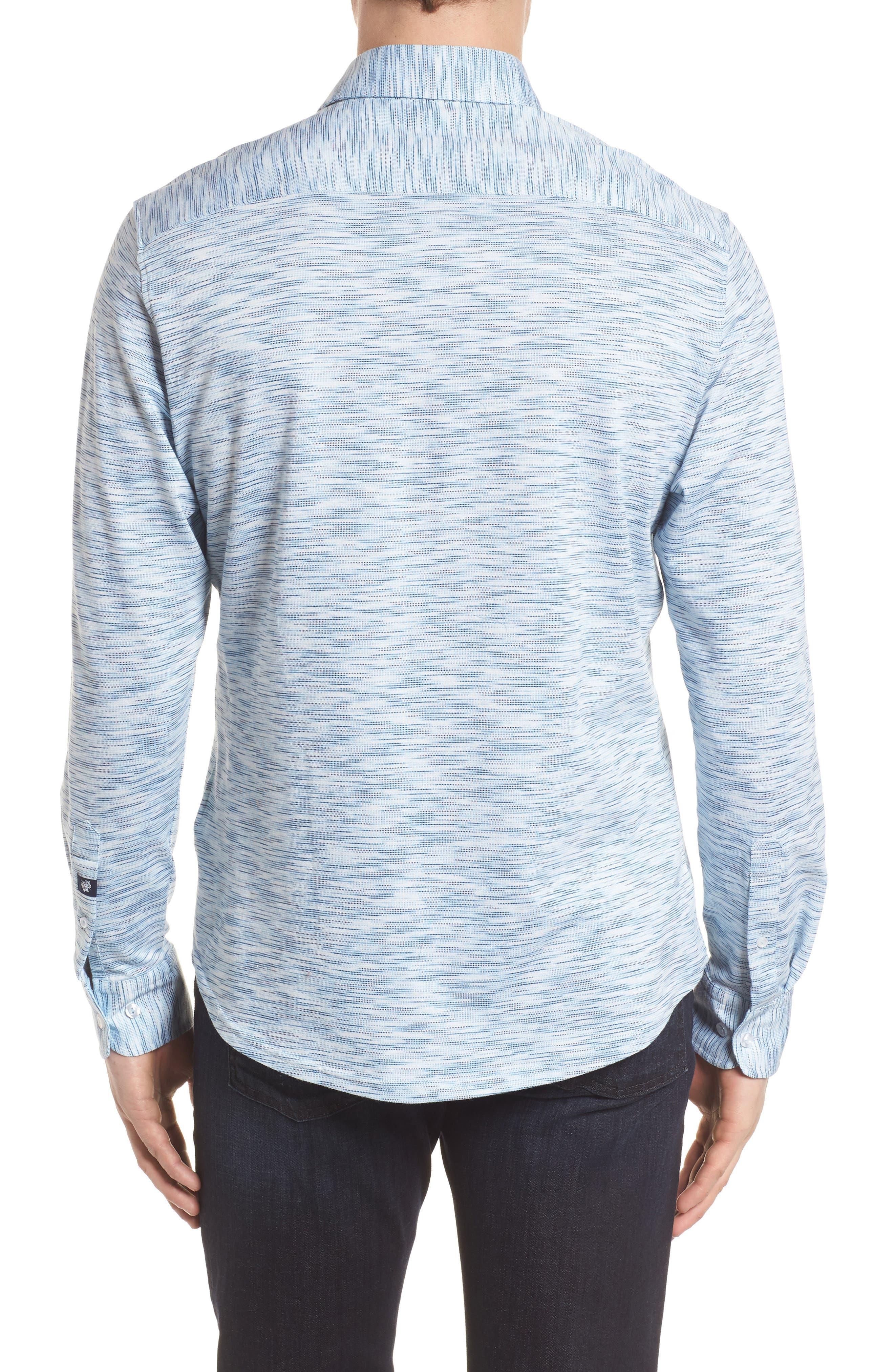 Contemporary Fit Print Sport Shirt,                             Alternate thumbnail 2, color,                             400