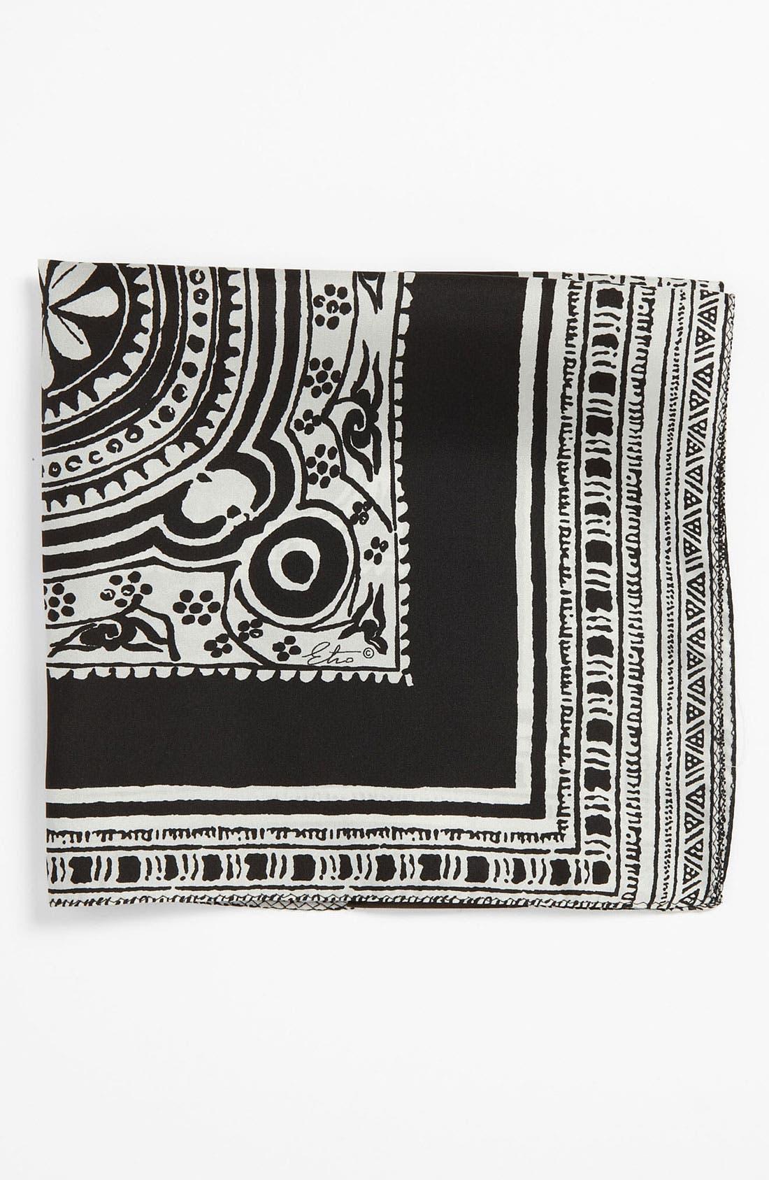 Silk Pocket Square,                         Main,                         color,
