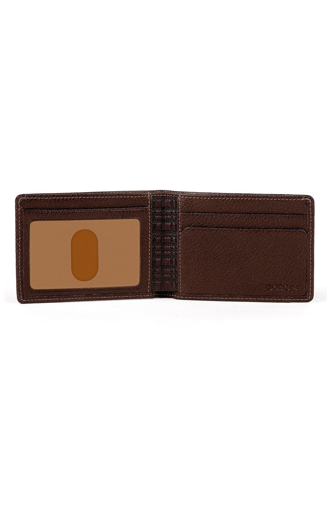 'Tyler' RFID Slimster Wallet,                             Alternate thumbnail 2, color,                             COFFEE