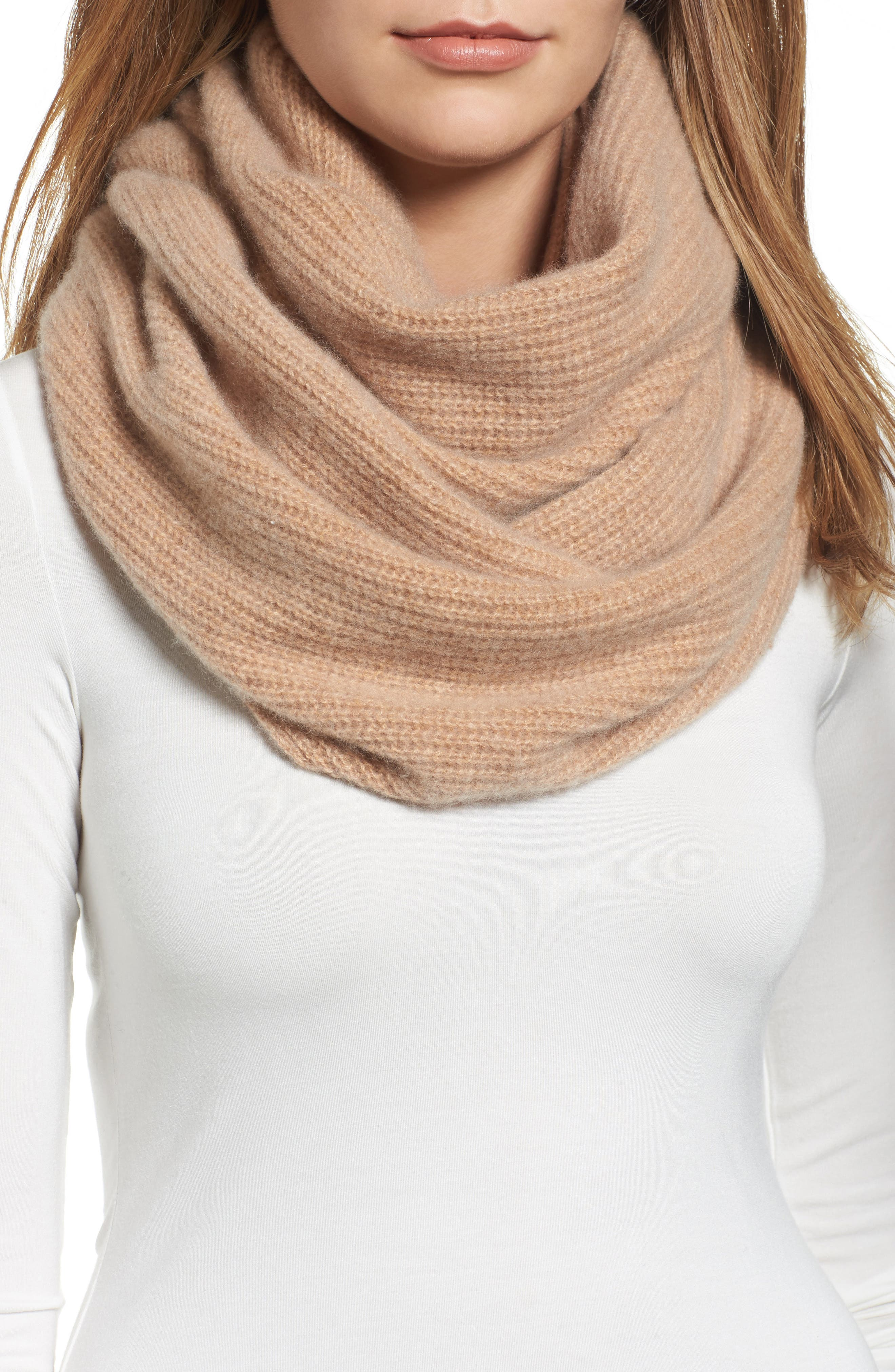 Cashmere Infinity Scarf,                             Main thumbnail 2, color,