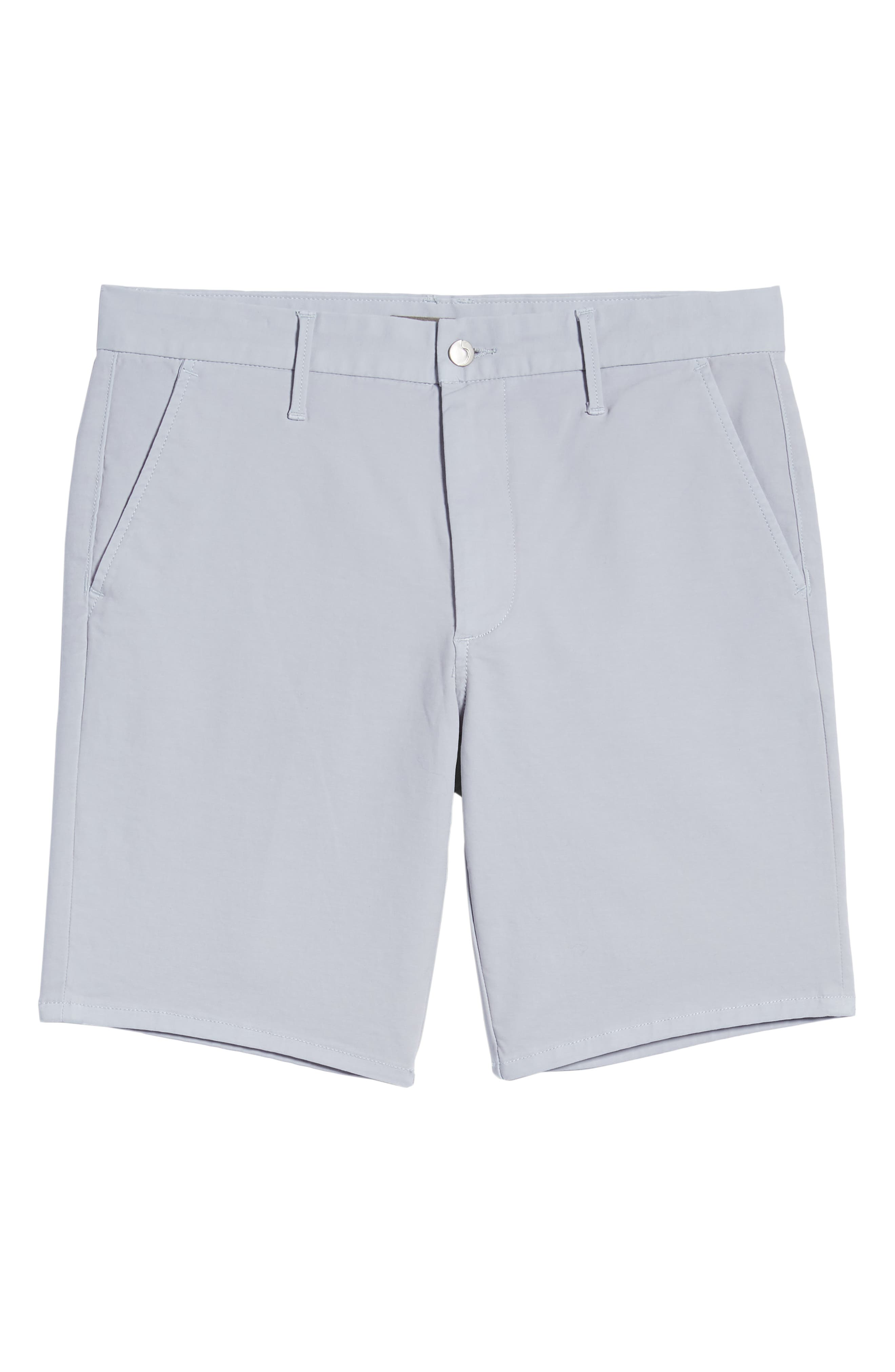 JOE'S,                             Brixton Trim Fit Straight Leg Shorts,                             Alternate thumbnail 6, color,                             GREY DAWN