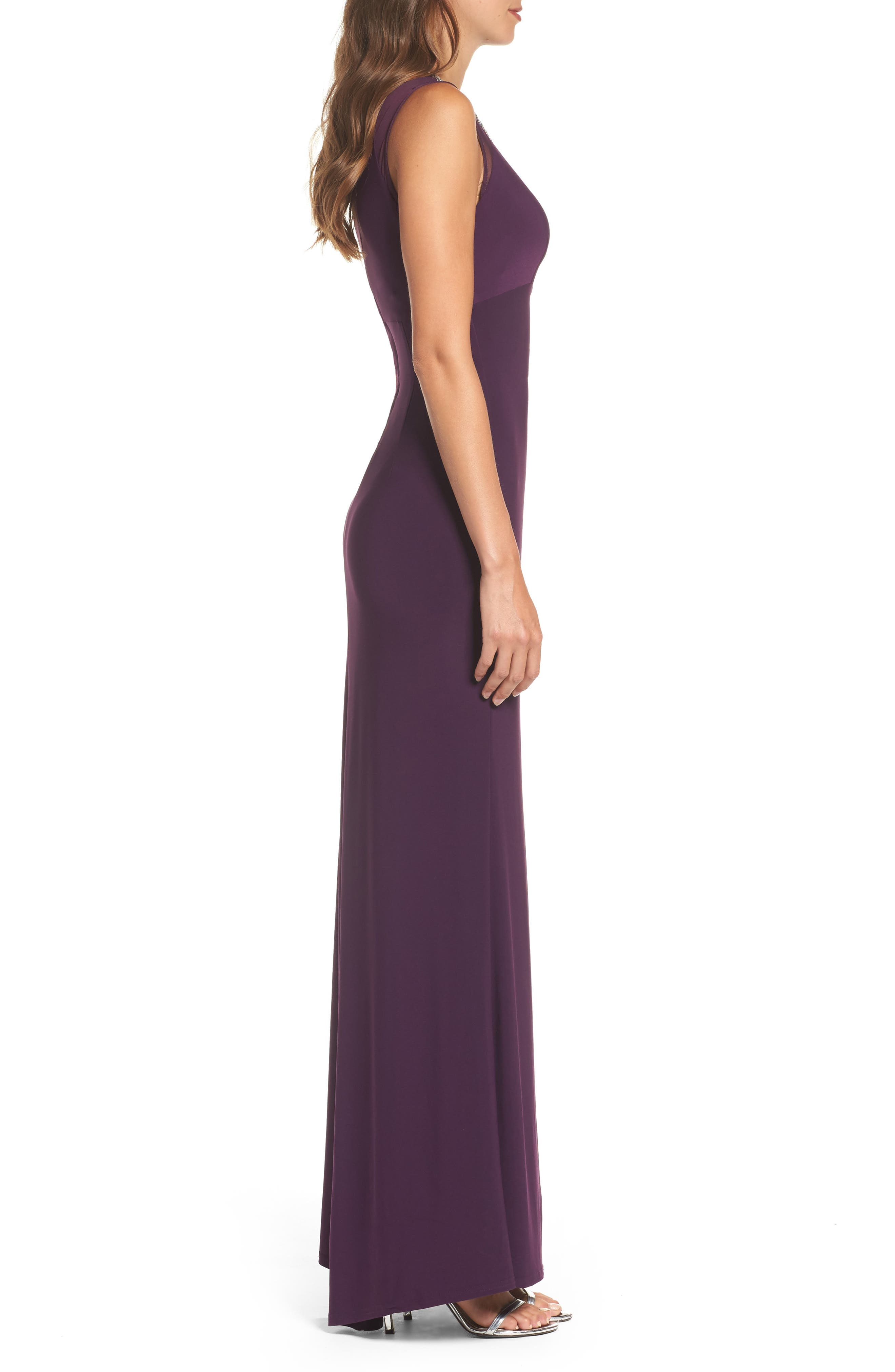 Embellished Gown,                             Alternate thumbnail 3, color,                             506