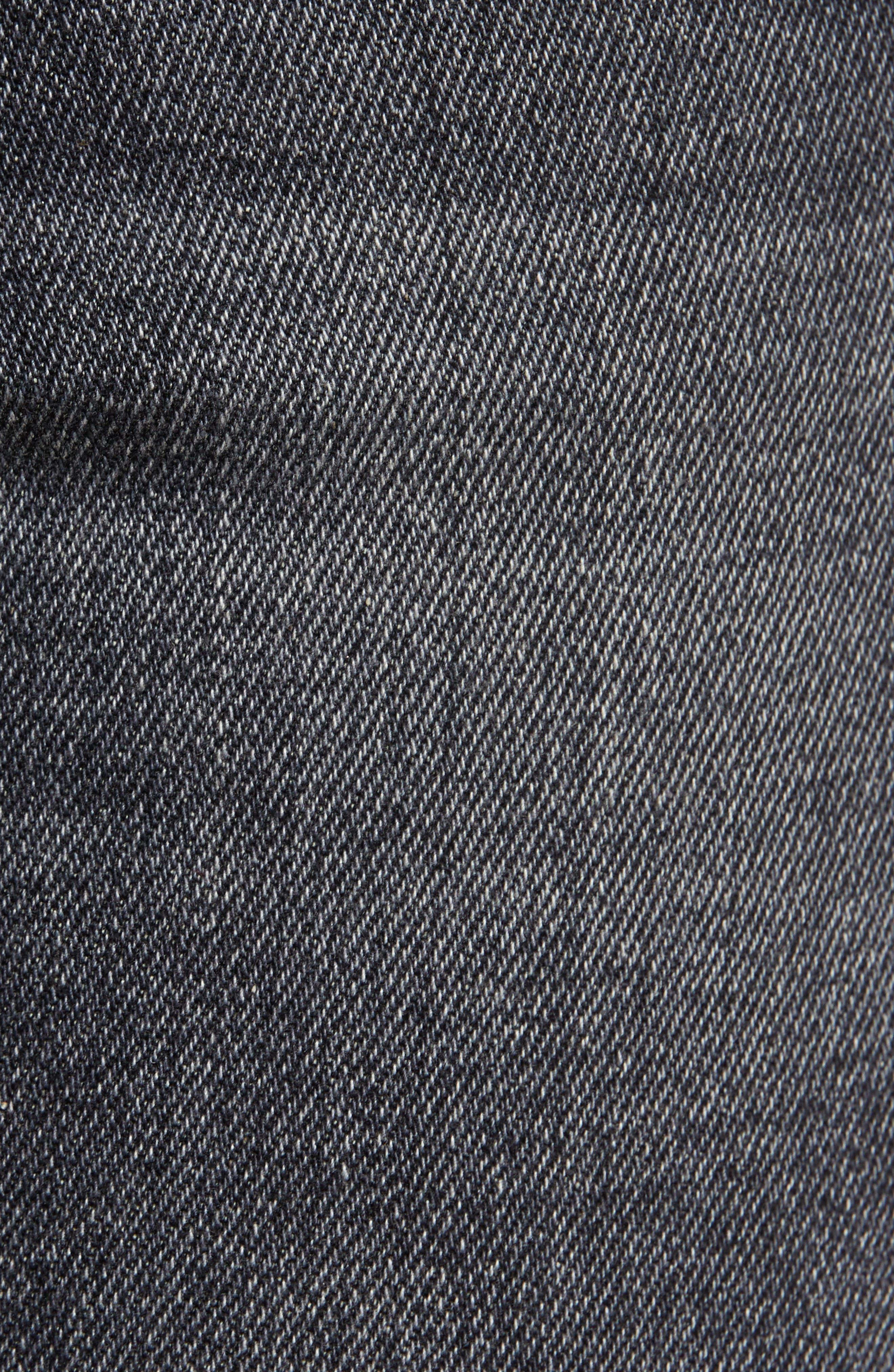 The Fling High Waist Boyfriend Jeans,                             Alternate thumbnail 6, color,                             001