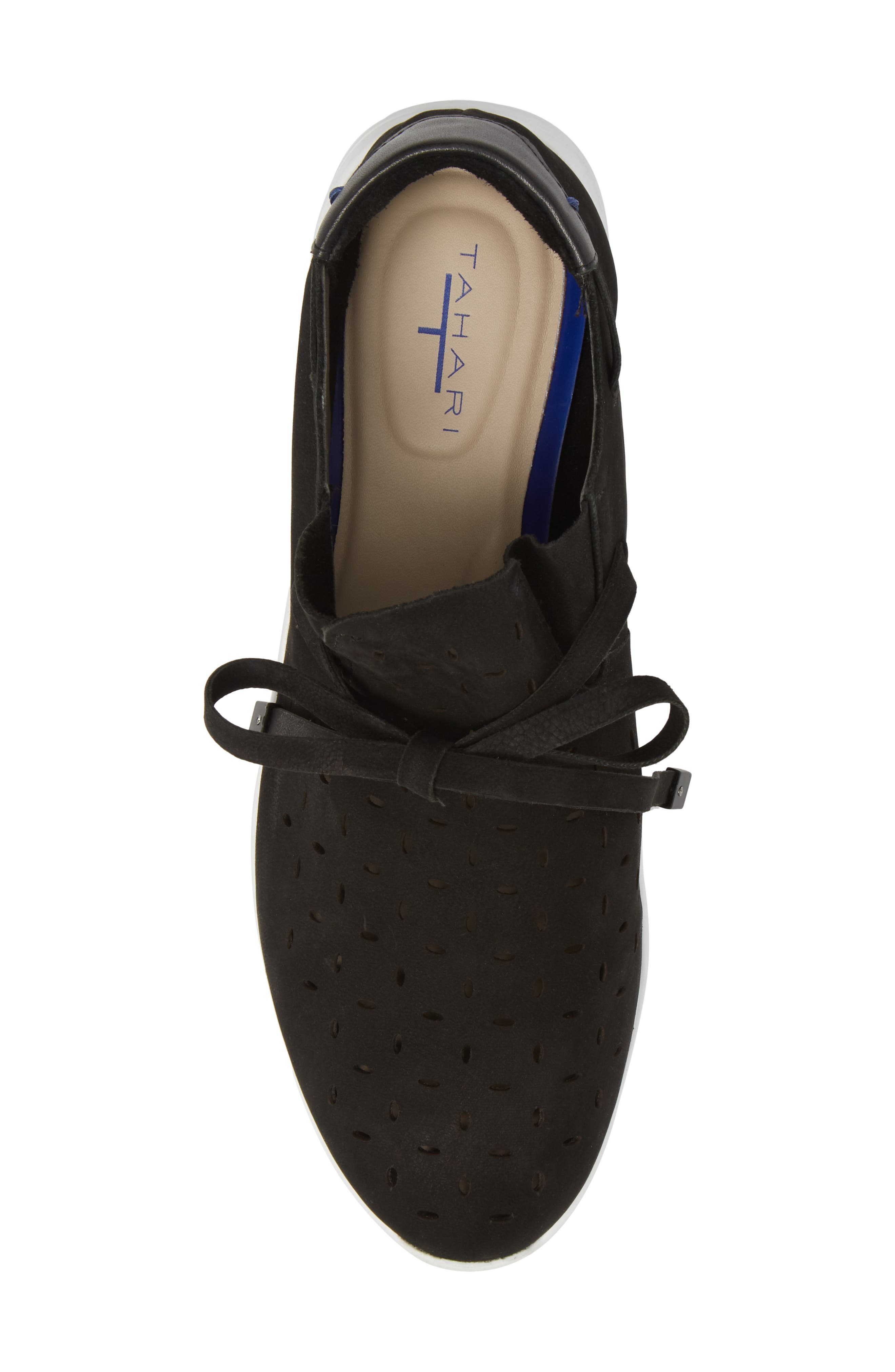 Freeport Sneaker,                             Alternate thumbnail 5, color,                             BLACK NUBUCK