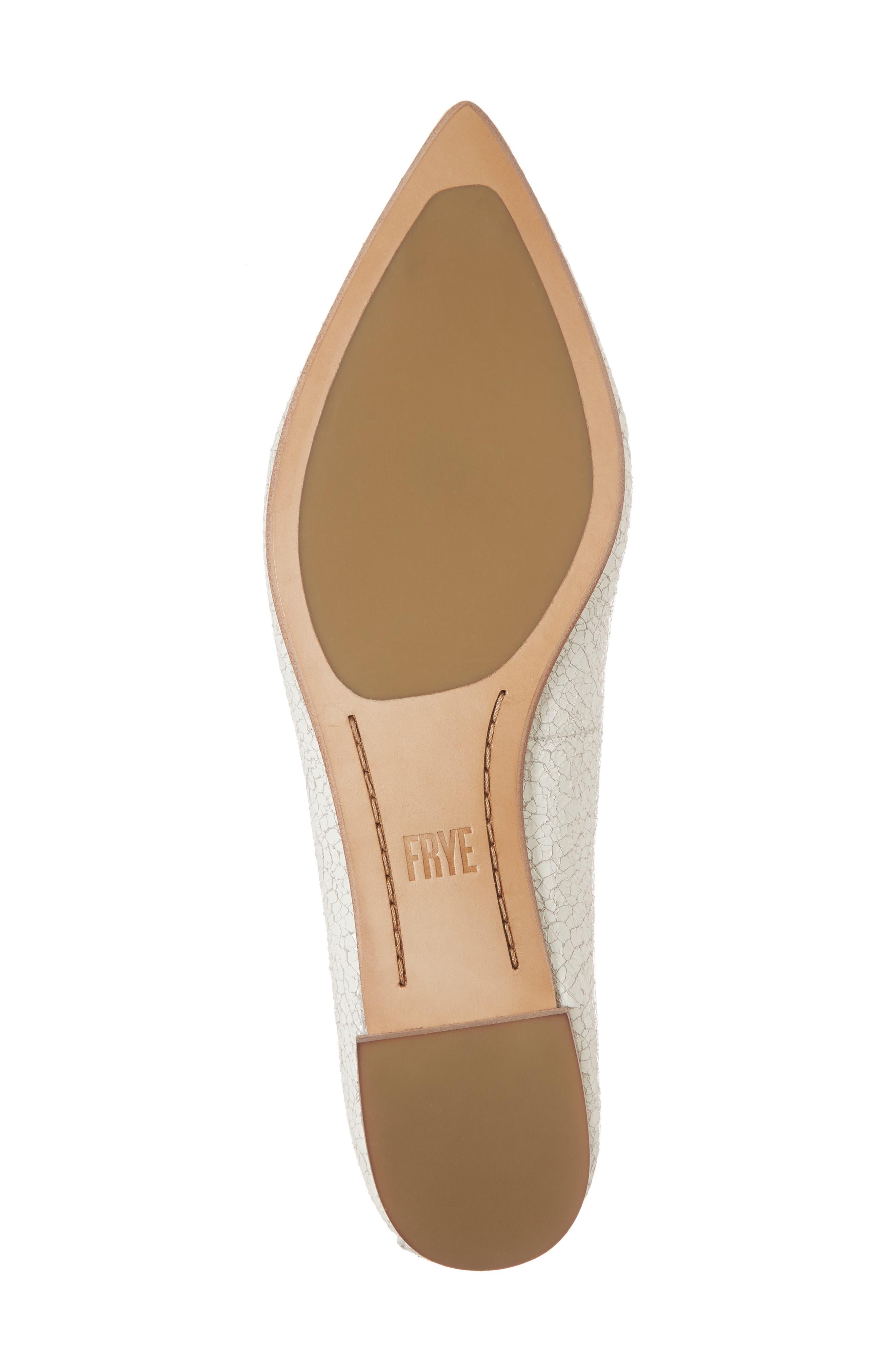 Sienna Pointy Toe Ballet Flat,                             Alternate thumbnail 17, color,