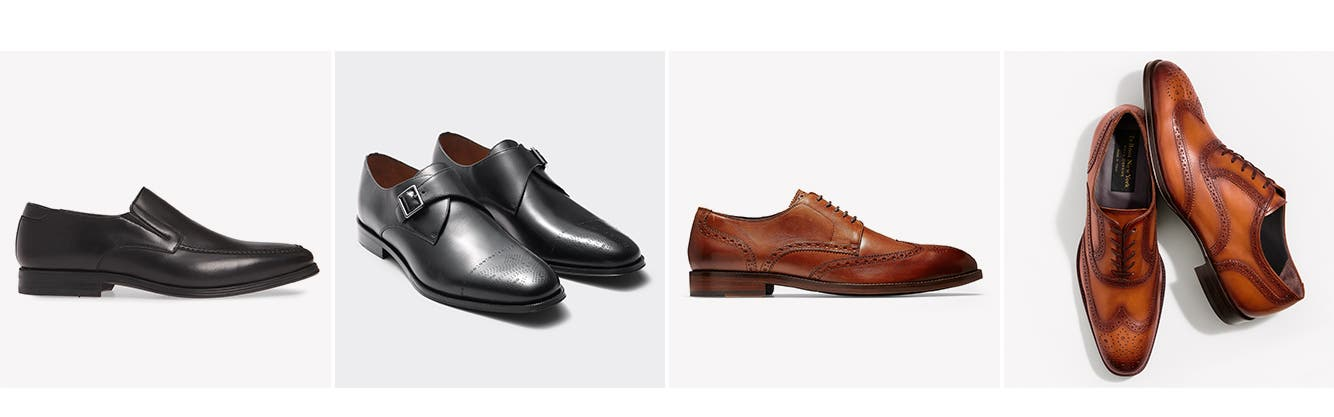 Men's dress shoes.