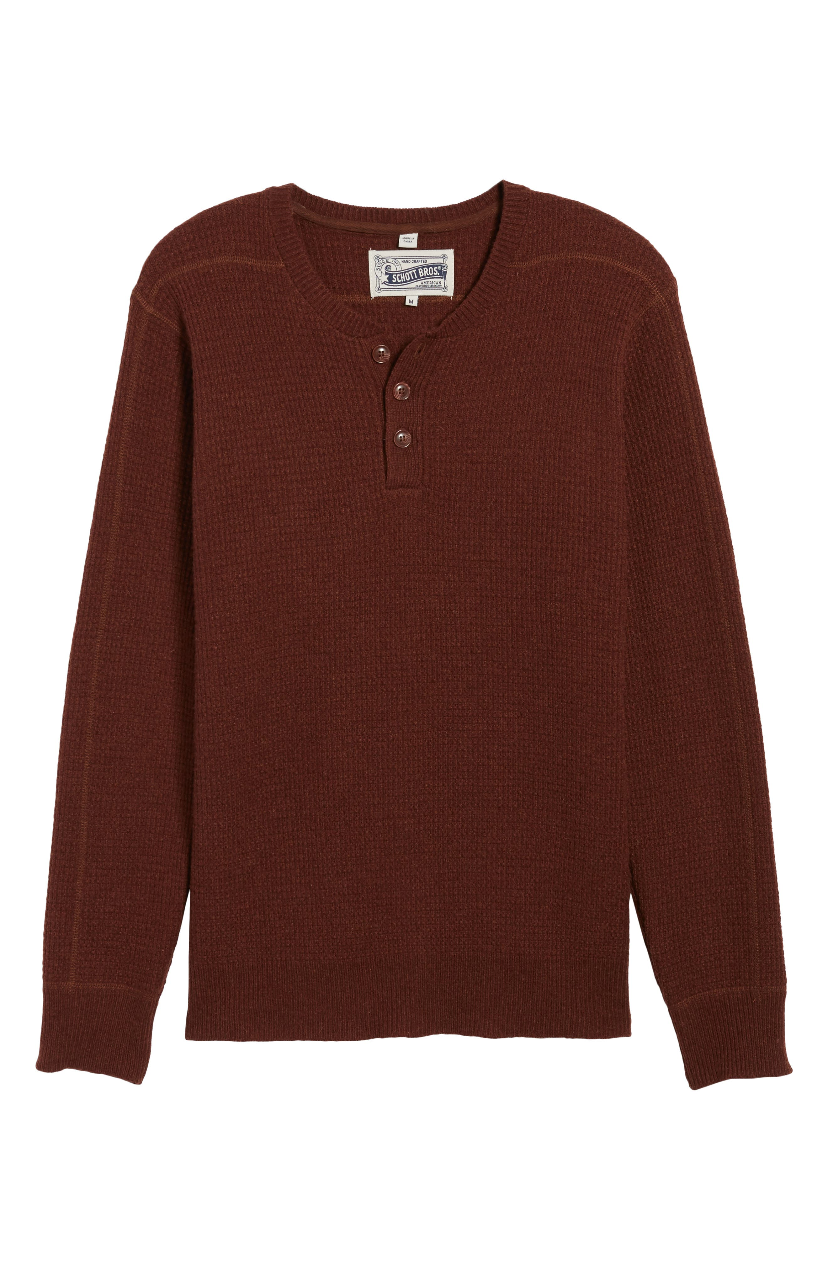 Thermal Henley,                             Alternate thumbnail 38, color,