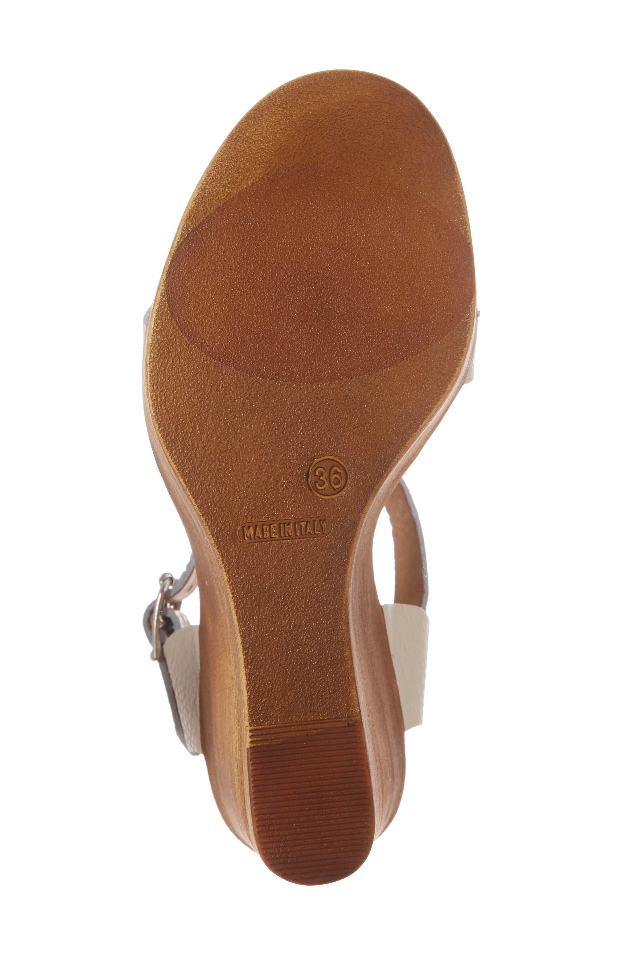 Belma Wedge Sandal,                             Alternate thumbnail 17, color,