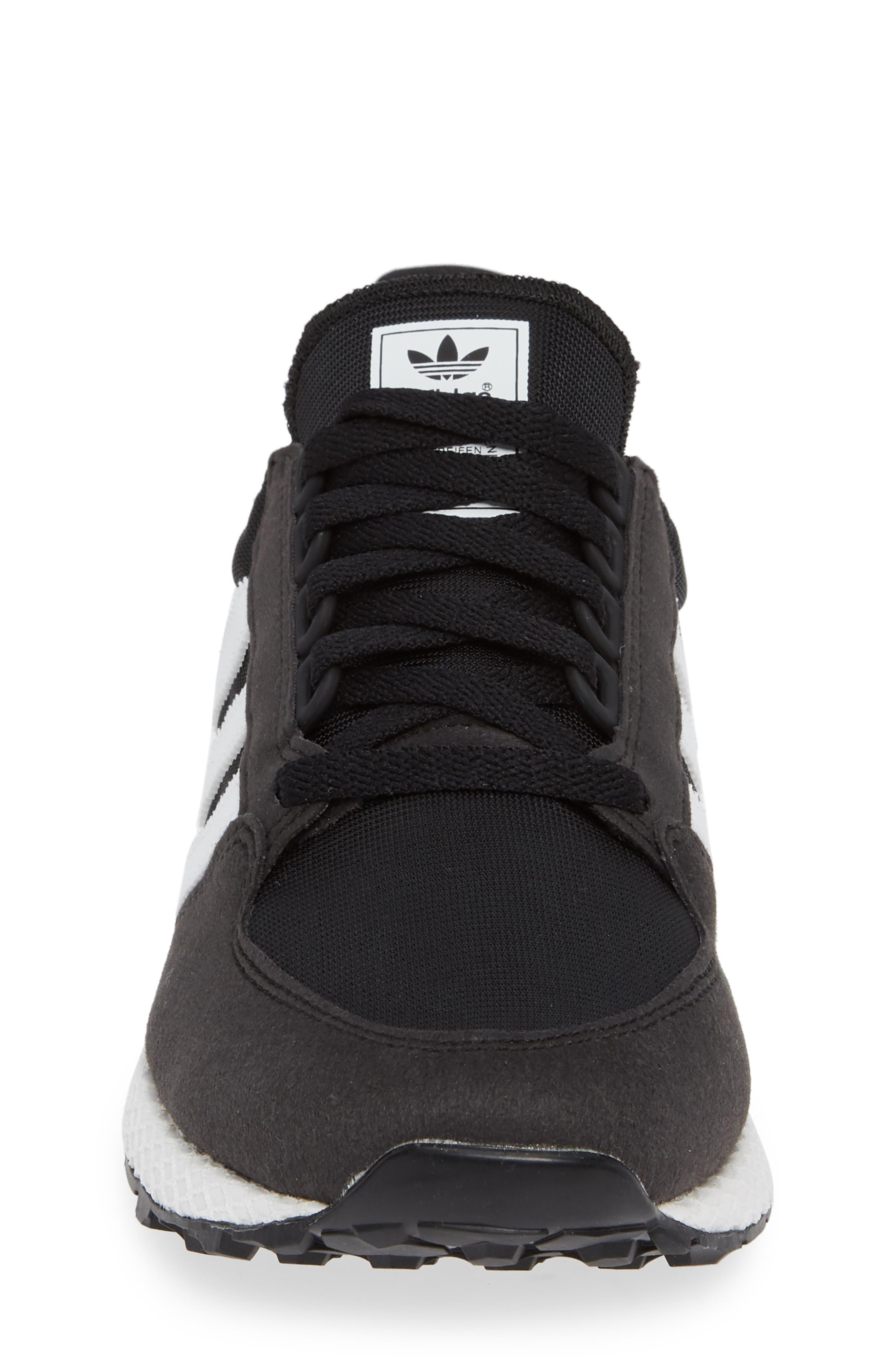 Forest Grove Sneaker,                             Alternate thumbnail 4, color,                             BLACK/ WHITE/ BLACK