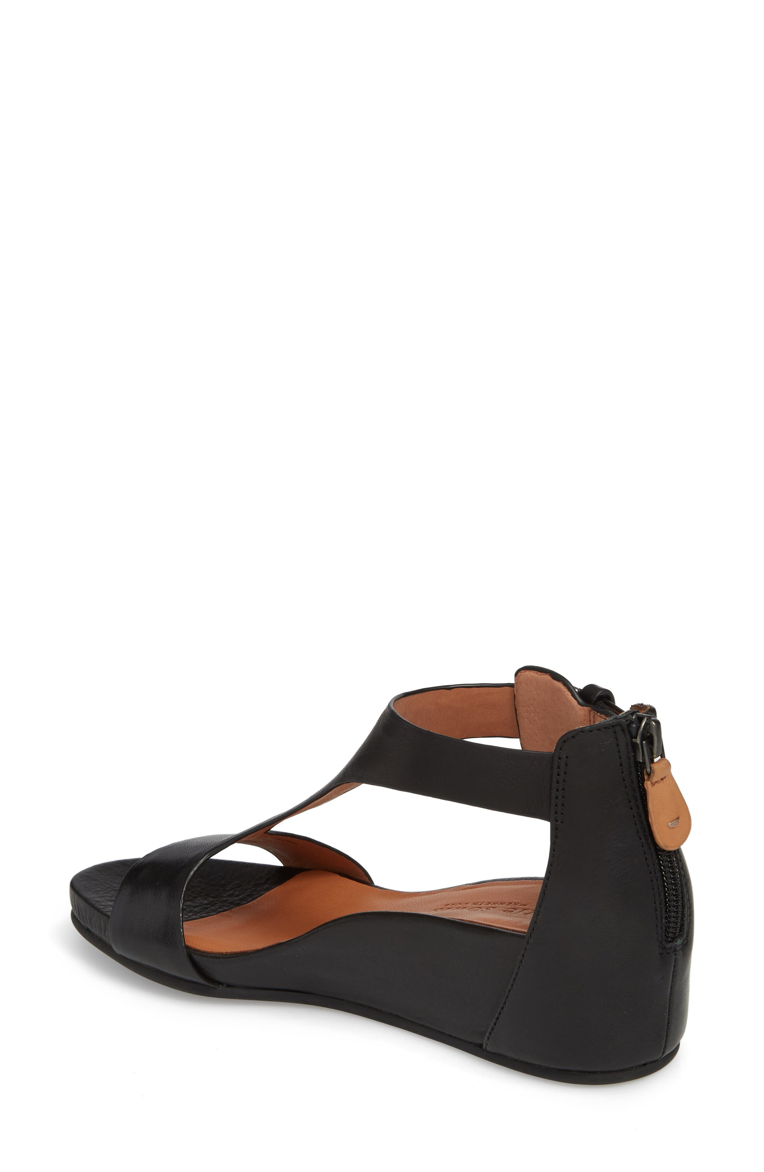 by Kenneth Cole Gisele Wedge Sandal,                             Alternate thumbnail 2, color,                             001