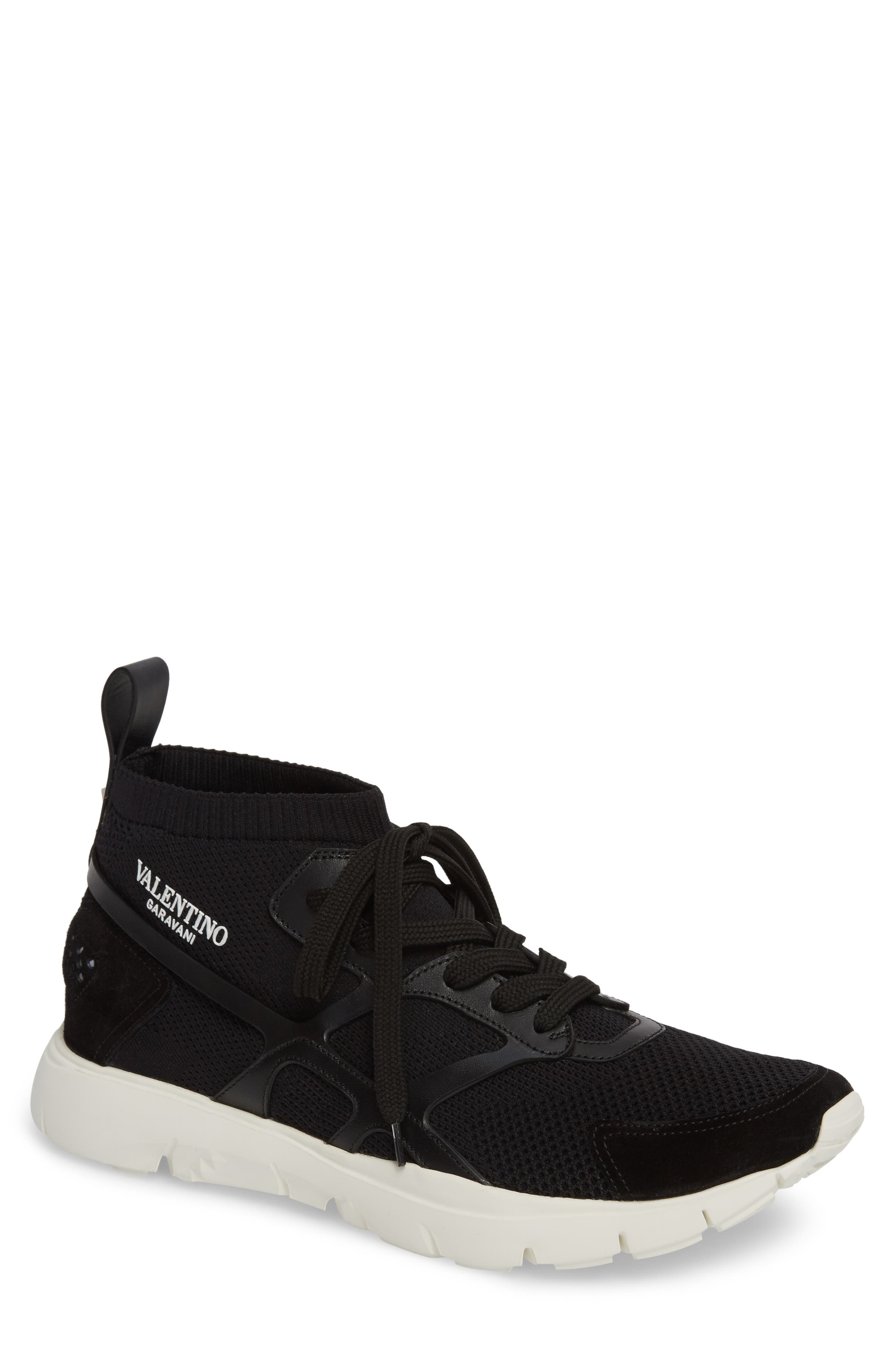 Sound High Sneaker,                             Main thumbnail 1, color,                             NERO